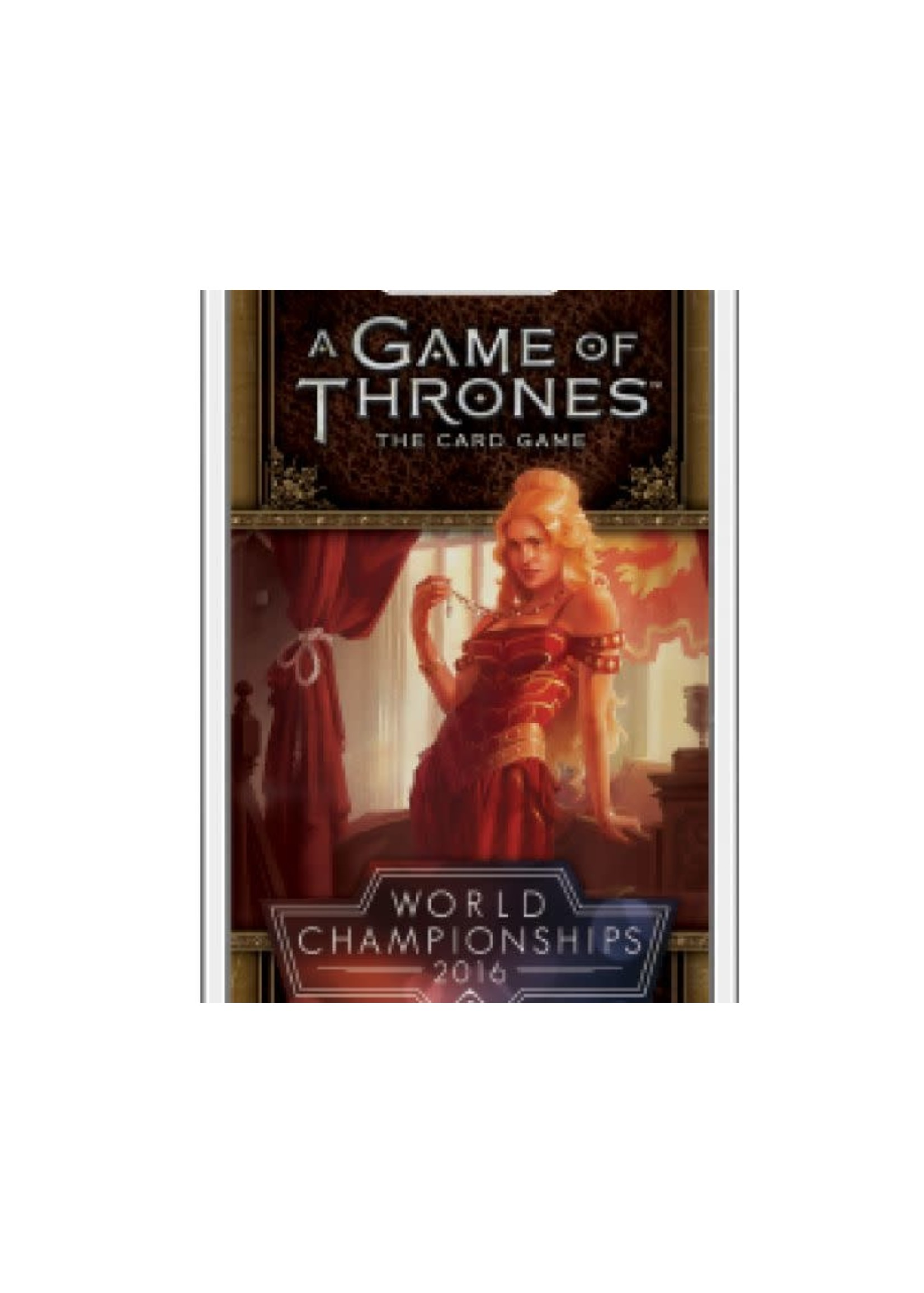 Game Of Thrones Lcg 2Nd Ed World Championship Deck 2016