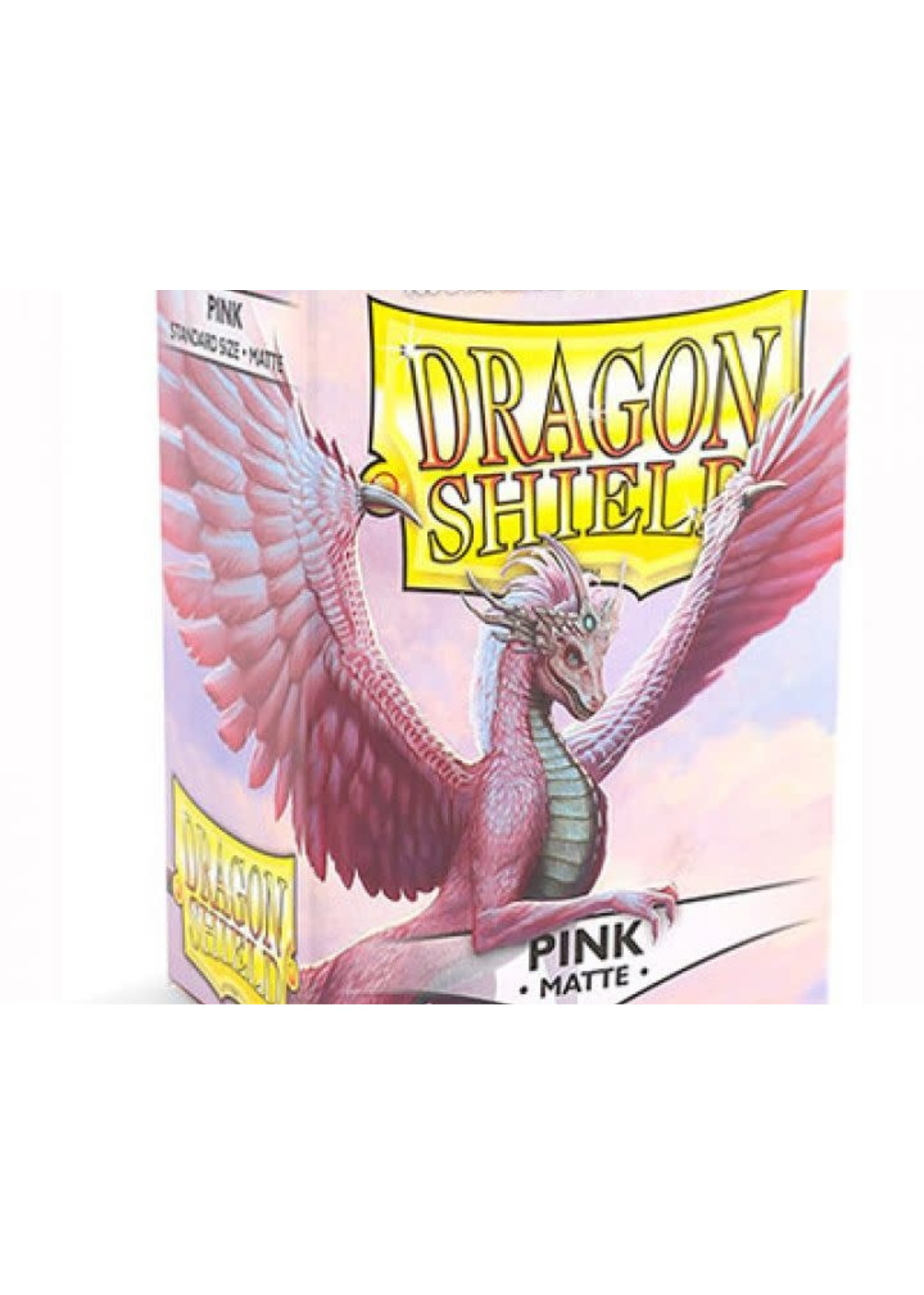 Dragonshield Sleeves Matte Pink