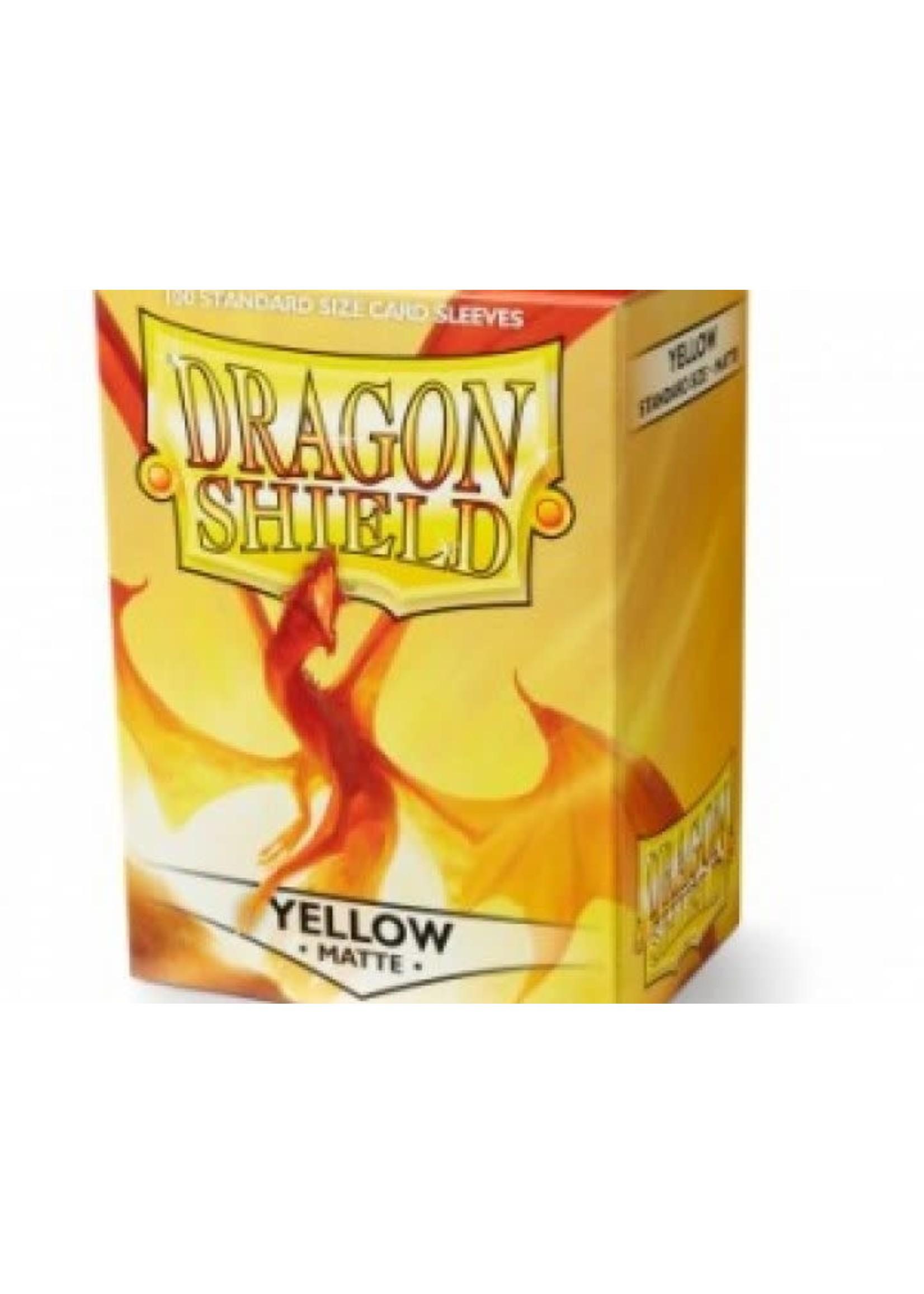 Dragon Shield Sleeves Pro Matte Yellow