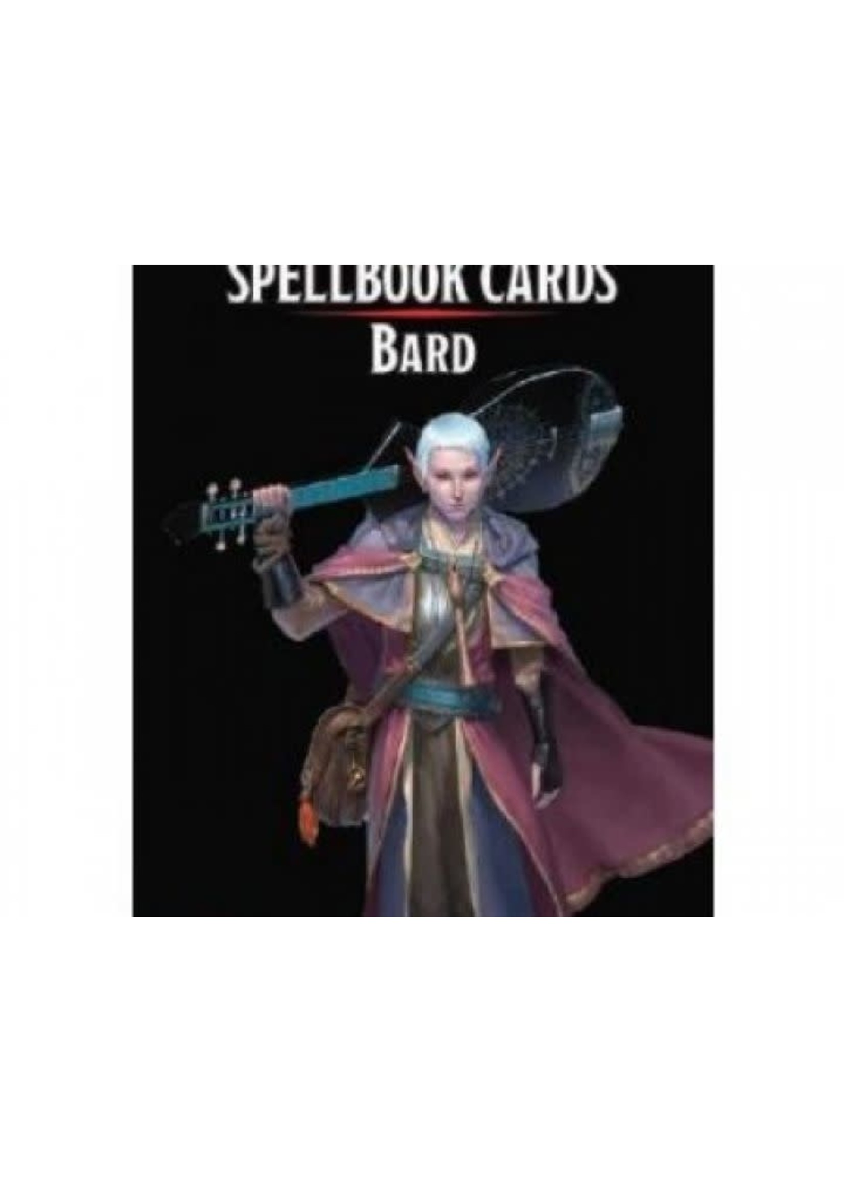 D&D Spellbook Cards Bard