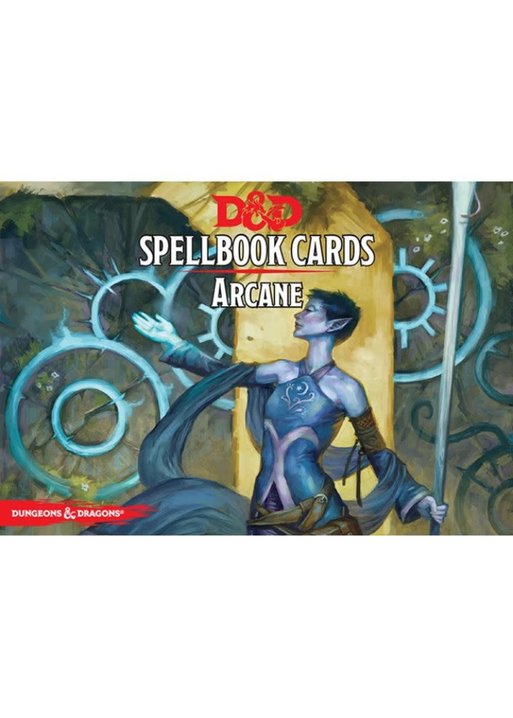 D&D Spellbook Cards Arcane