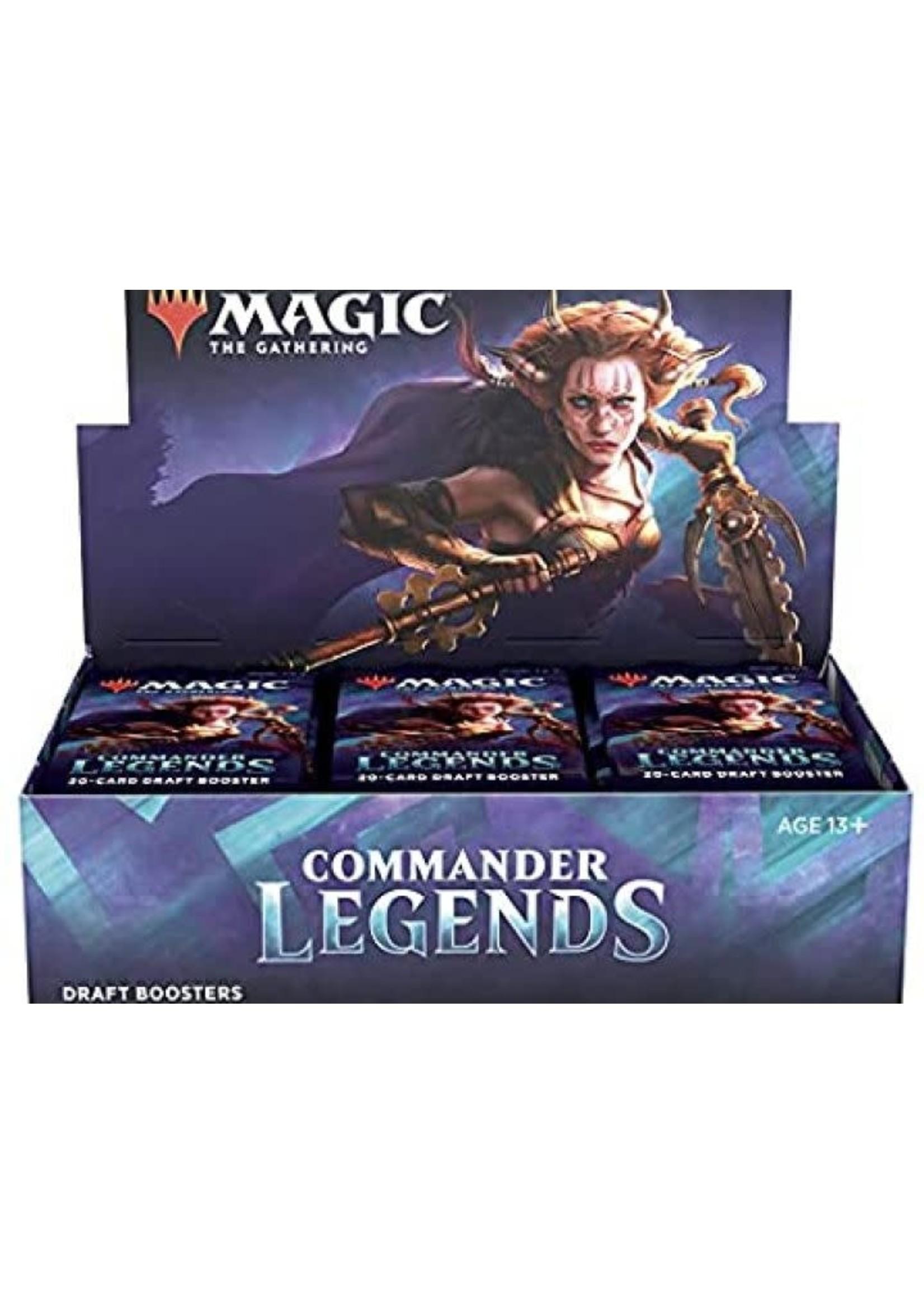 Mtg Commander Legends Draft Booster Display