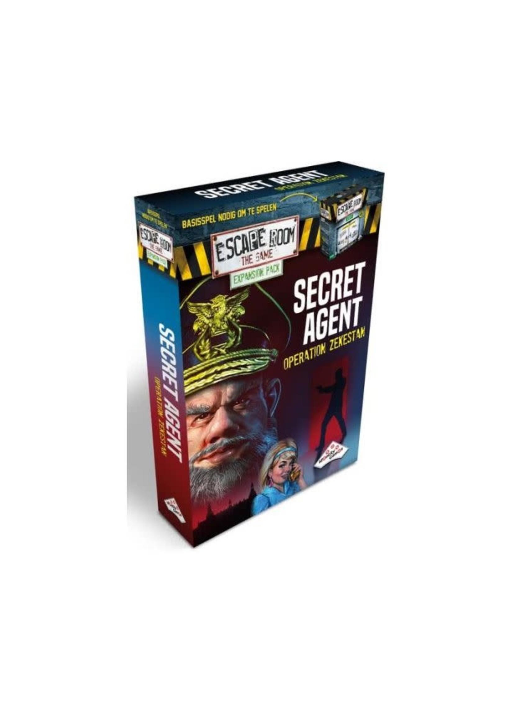 Escape Room The Game Secret Agent Expansion