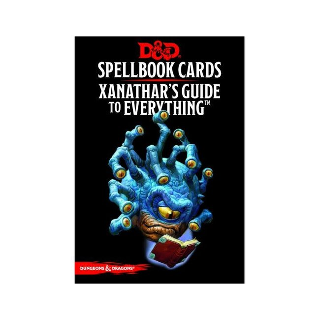 D&D Spellbook Cards: Xanathar'S Guide