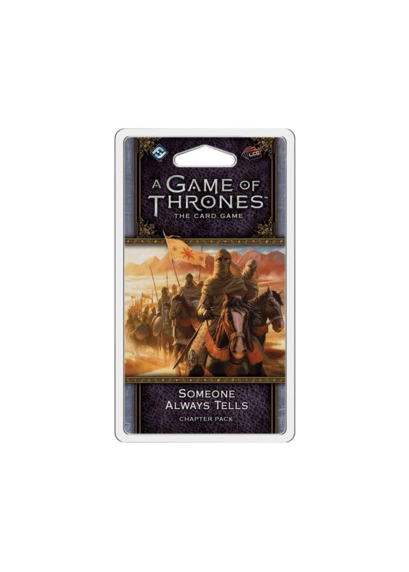 Game Of Thrones 2Nd Ed Someone Always Tells