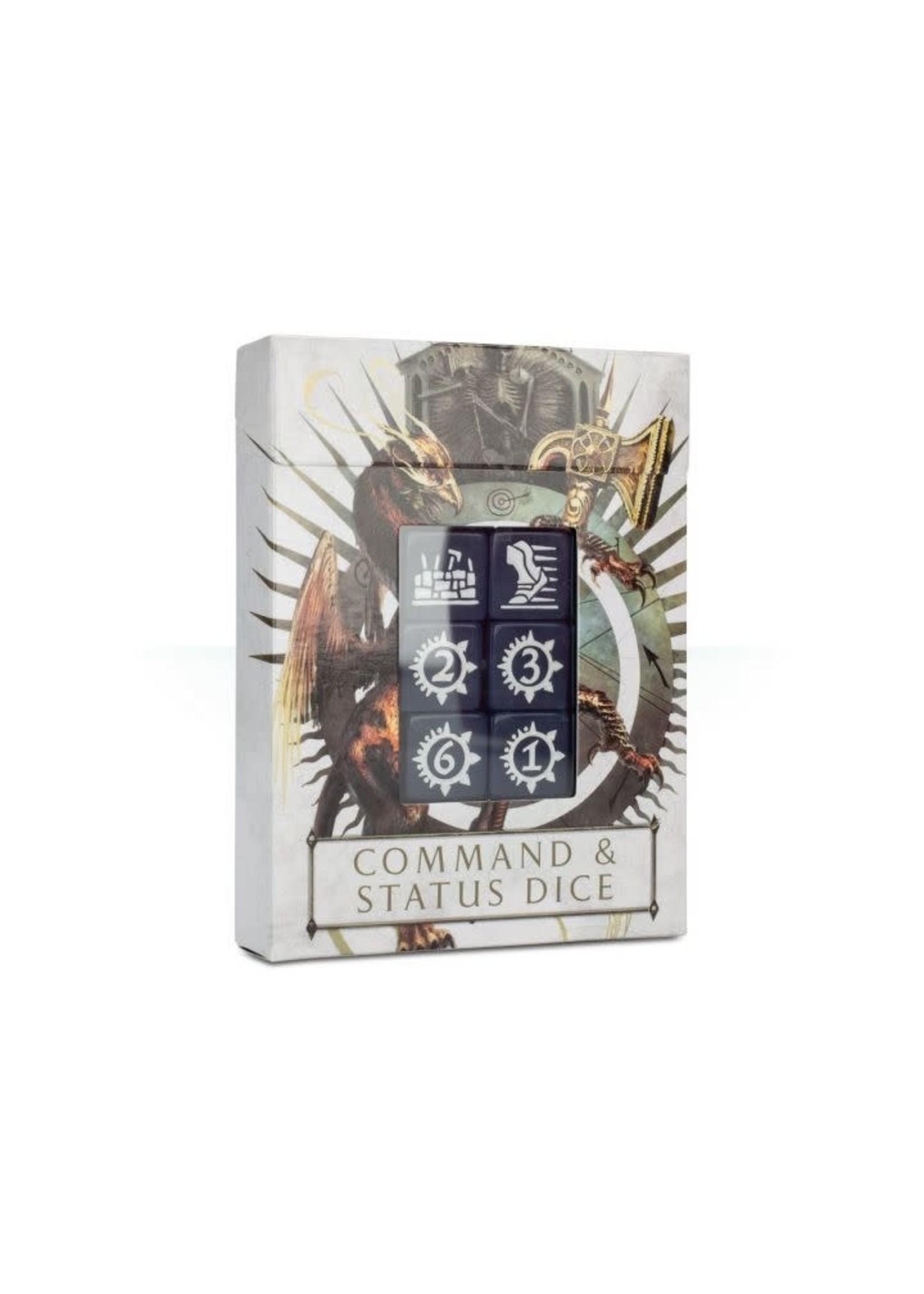 Age Of Sigmar: Command & Status Dice