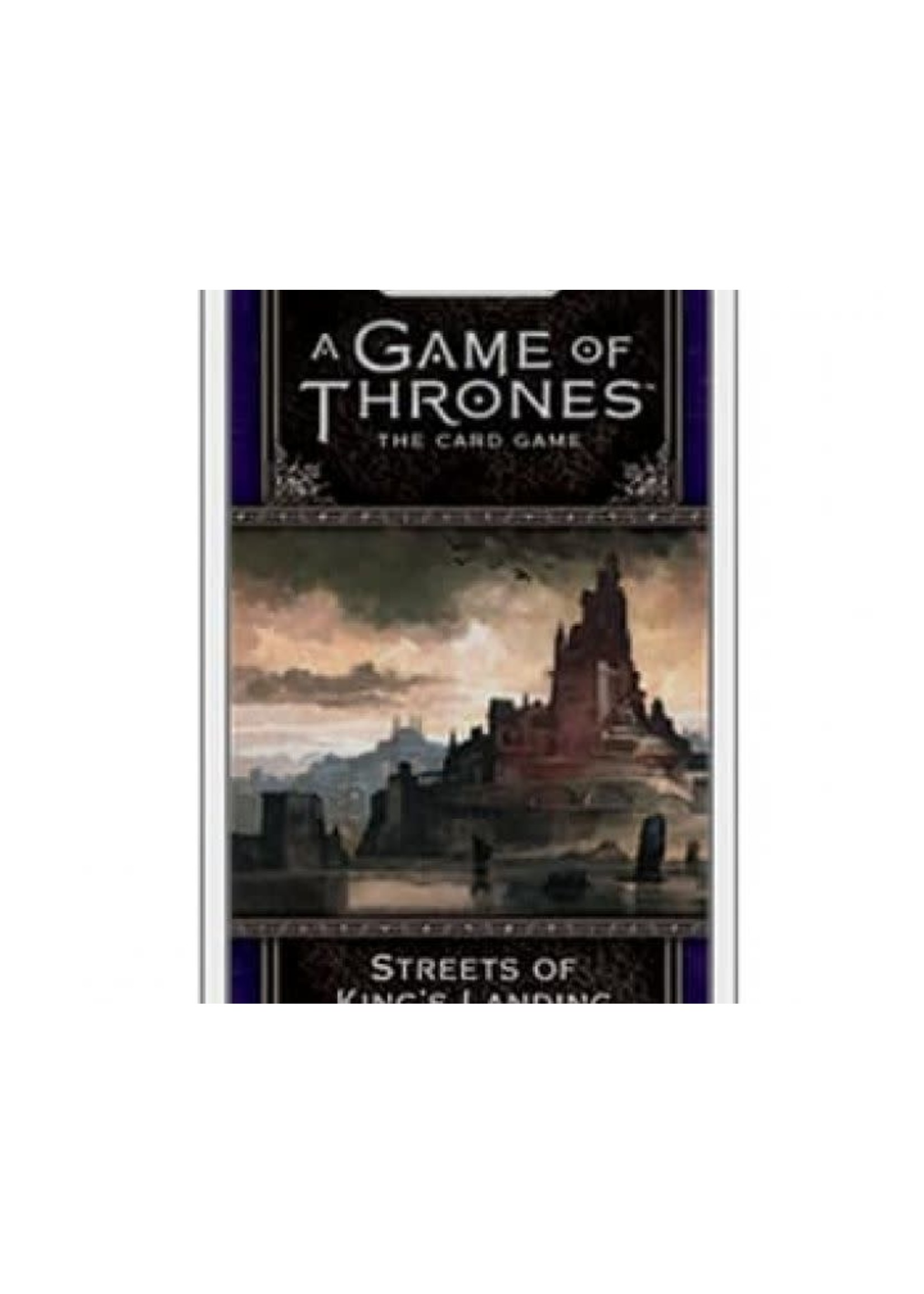 Game Of Thrones Lcg 2Nd Ed Streets Of King'S Landing