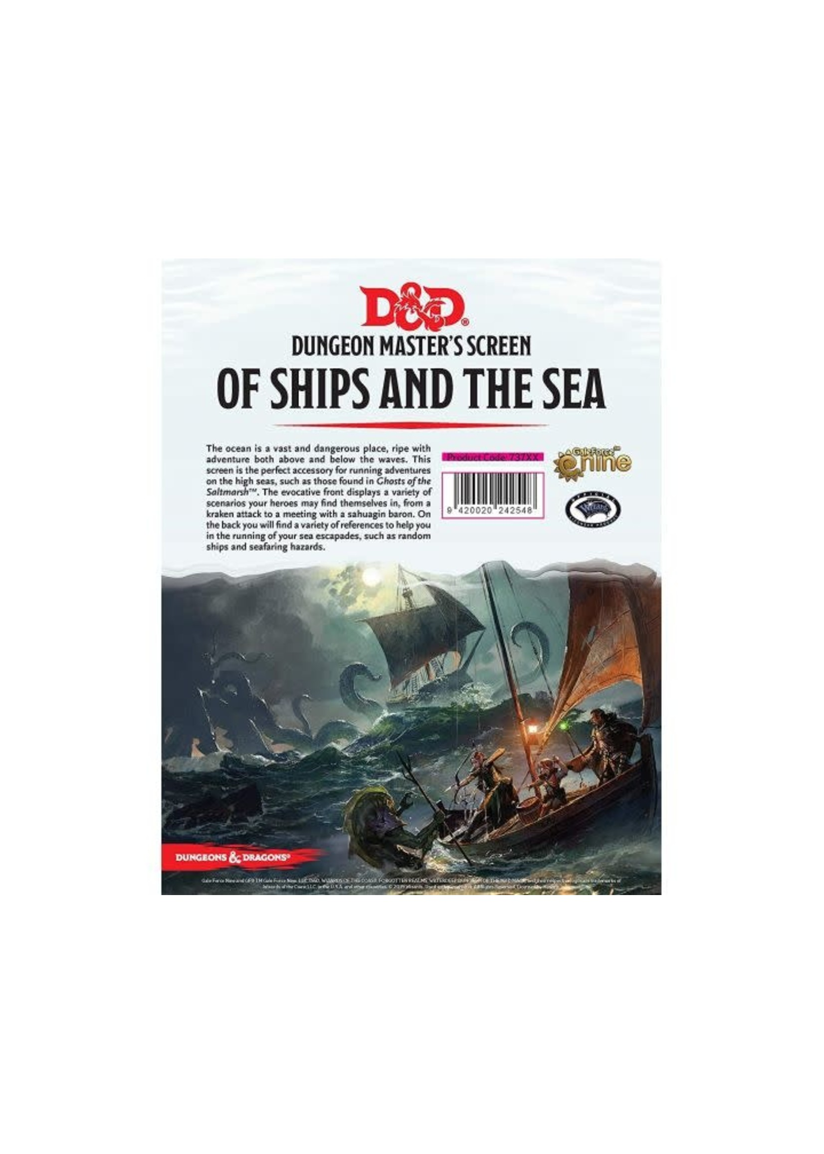 D&D Of Ships And The Sea Dm Screen