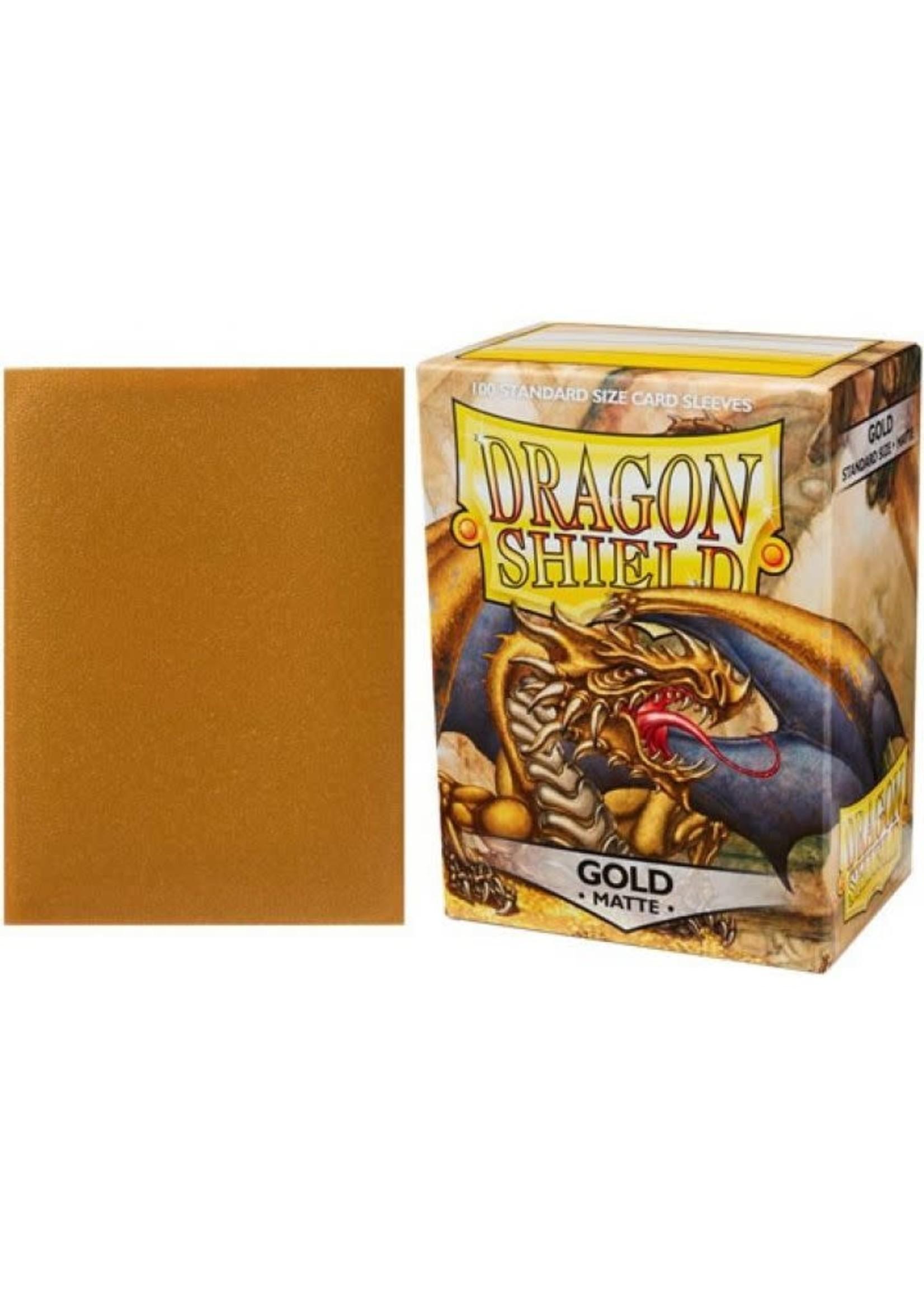 Dragonshield Matte Gold