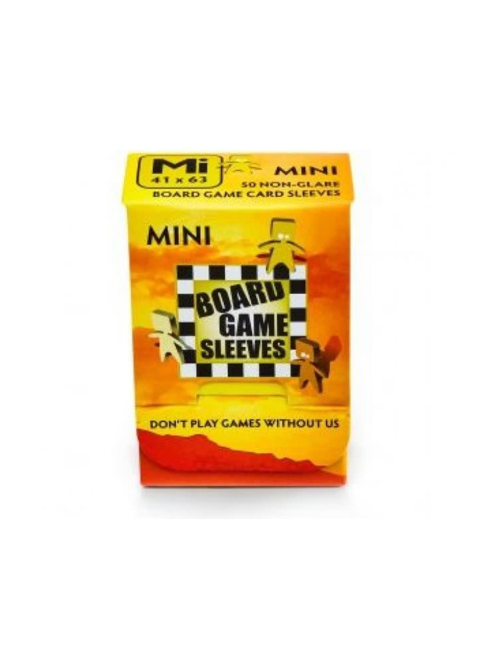 Mini Board Game Sleeves Non-Glare 41X63Mm