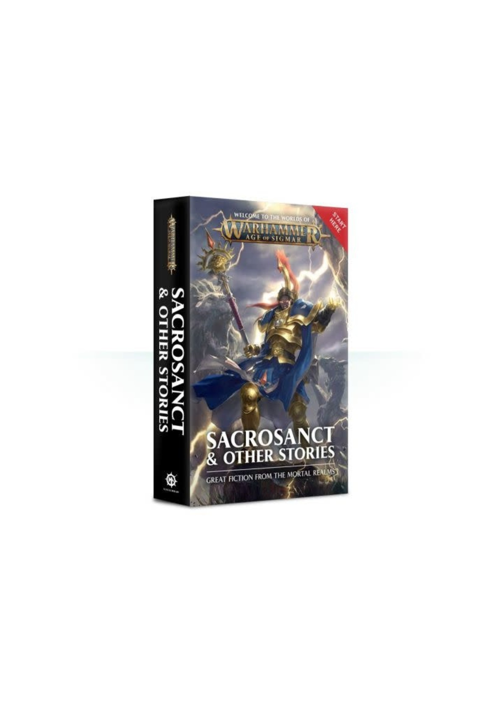 Aos: Sacrosanct & Other Stories (Pb) Bl2563