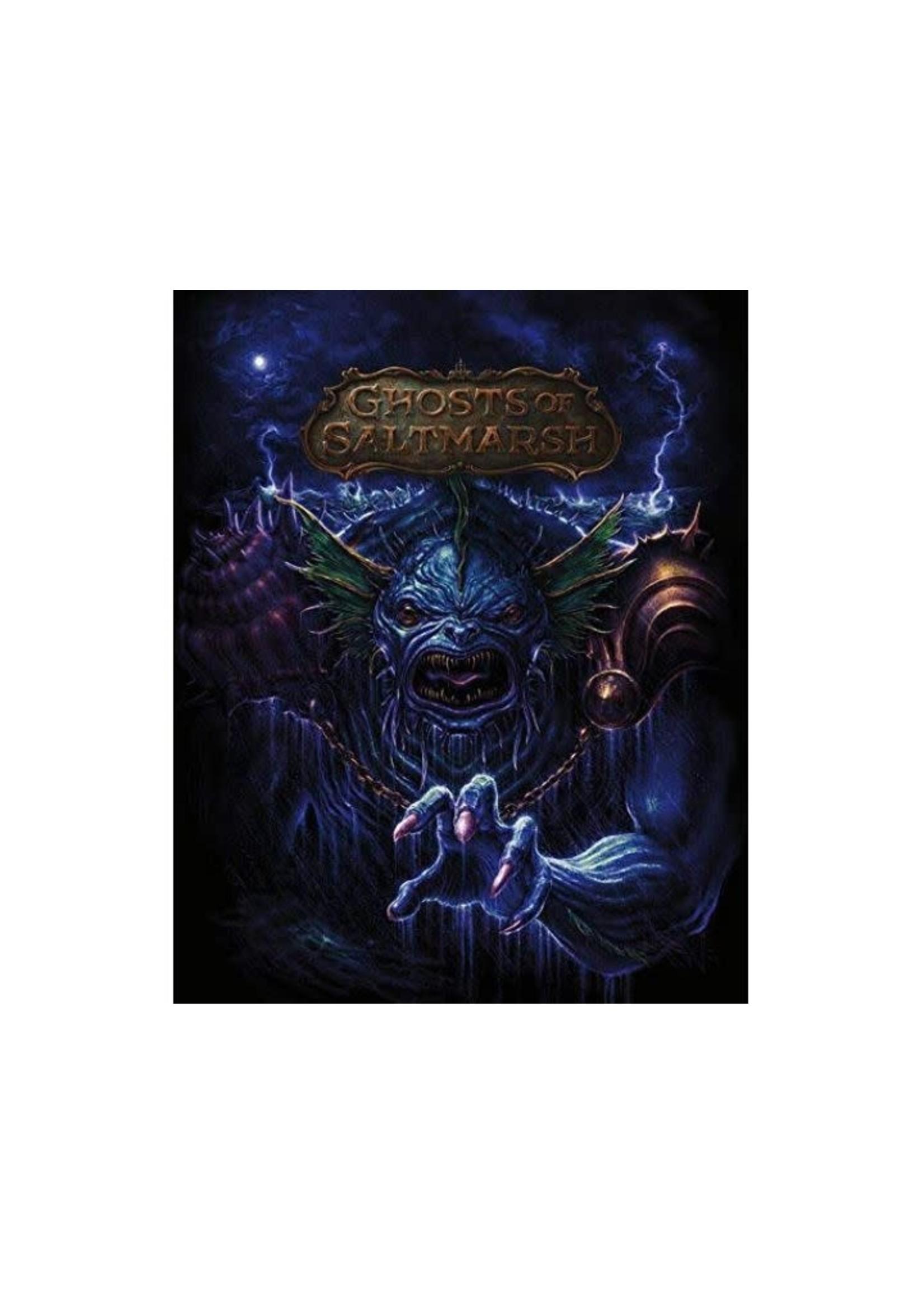 Dungeons & Dragons Next Ghost Of Saltmarsh Book