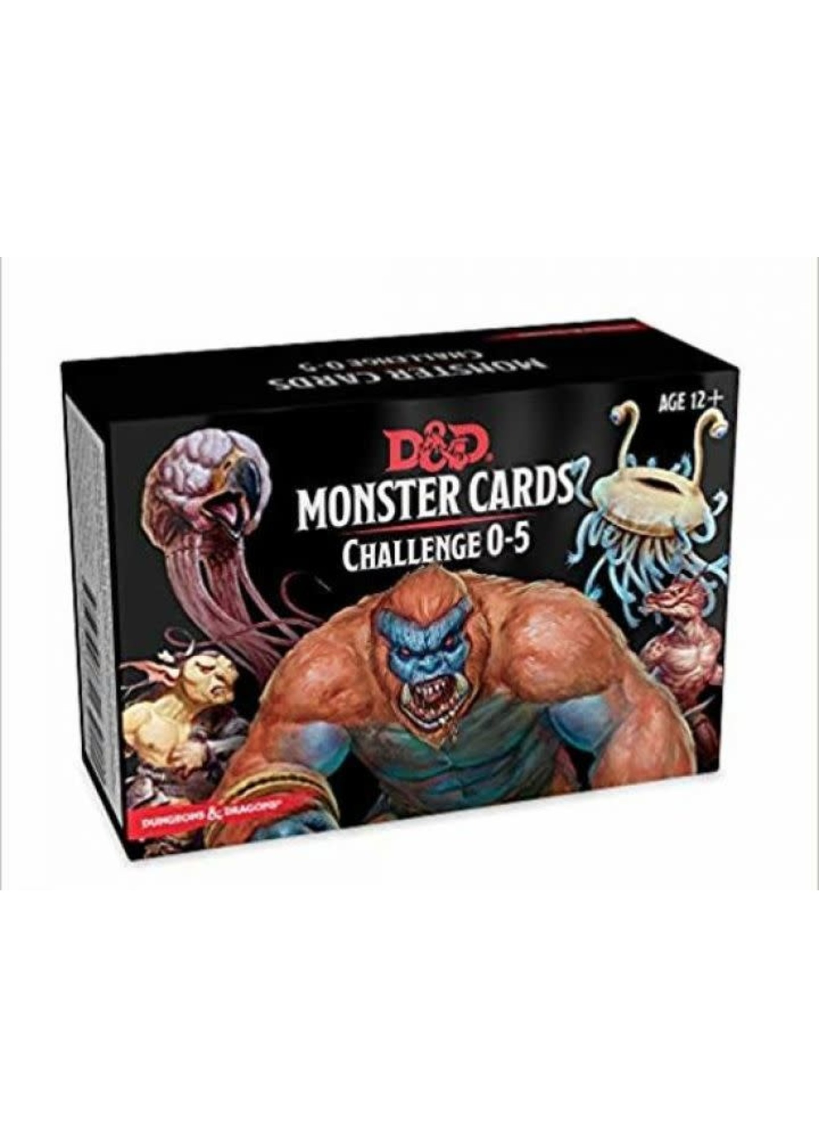 Dungeons & Dragons Monster Card Deck Levels 0-5 (242 Cards)