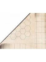 Reversible Megamat 11/2 Squares & 11/2'' Hexes''