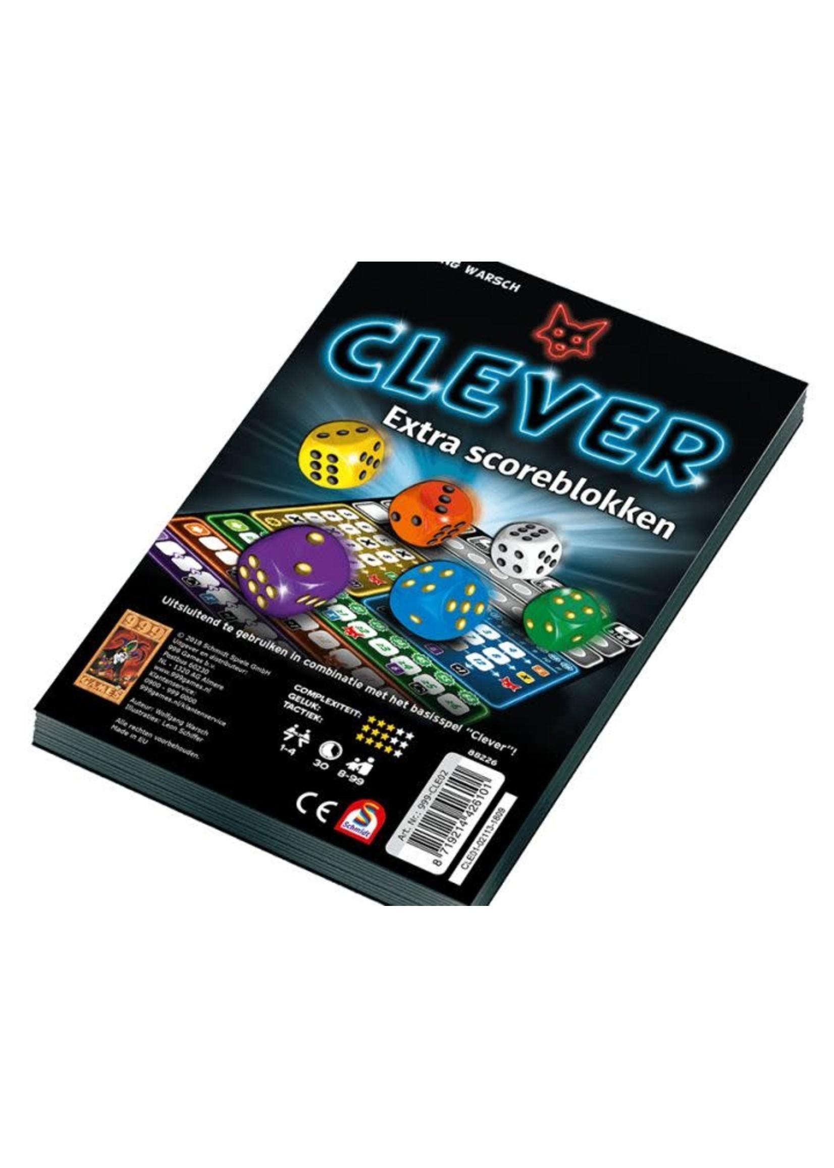 Clever Extra Scoreblokken (2 Stuks)