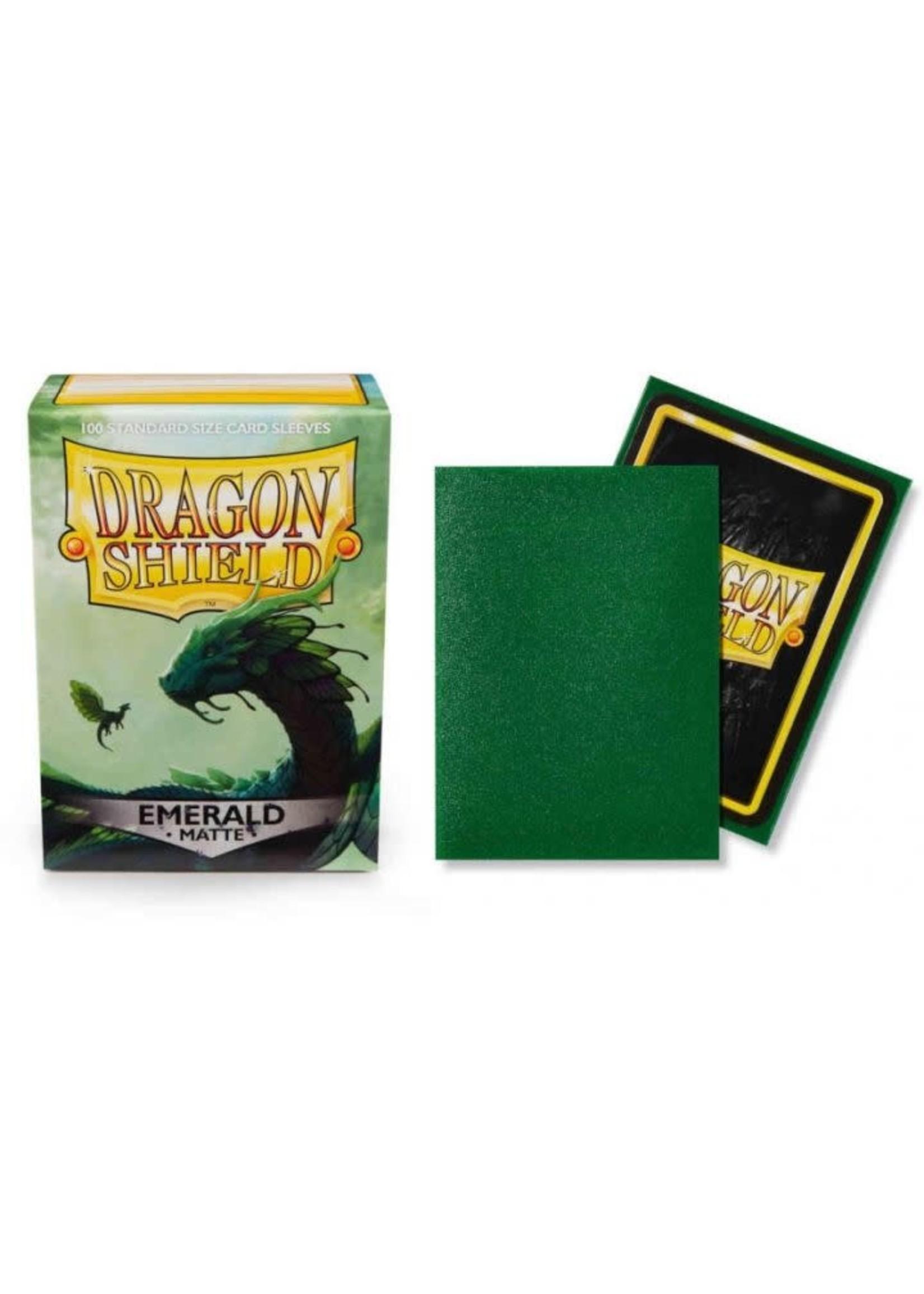 Dragon Shield Matte Sleeves - Emerald (100 Sleeves)