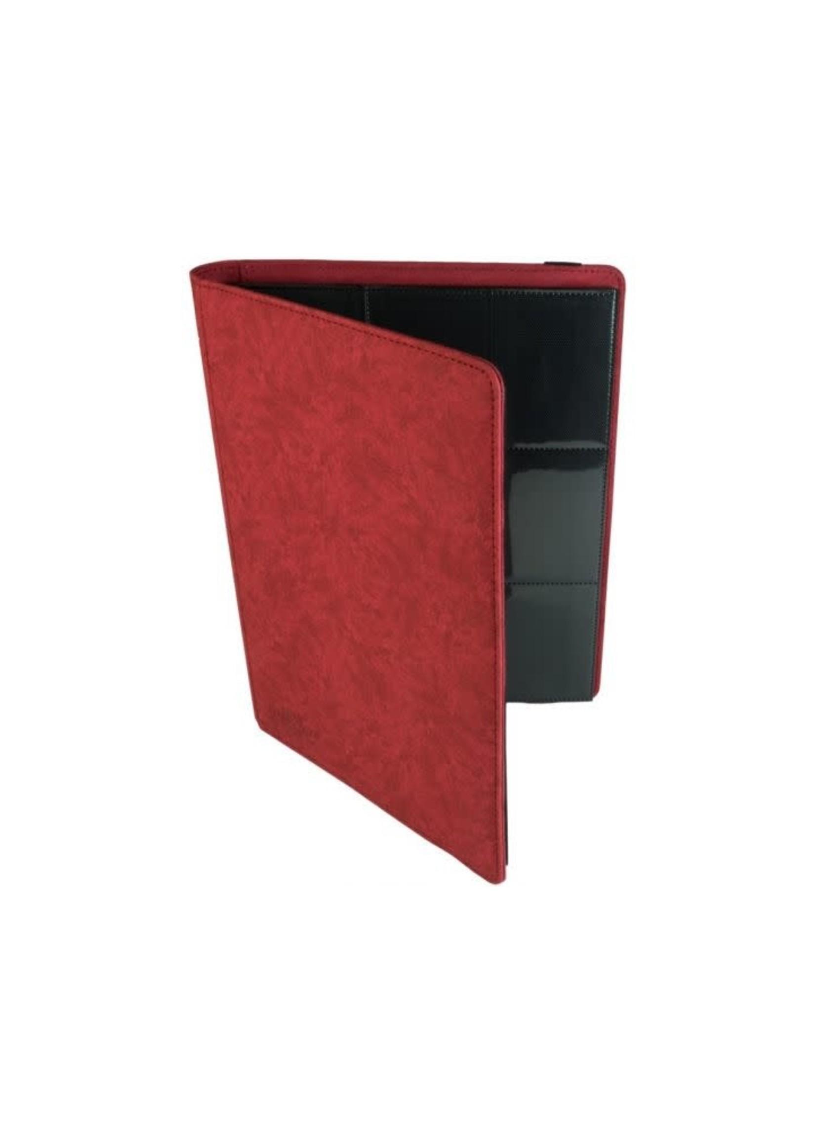 Blackfire 9-Pocket Premium Album - Red