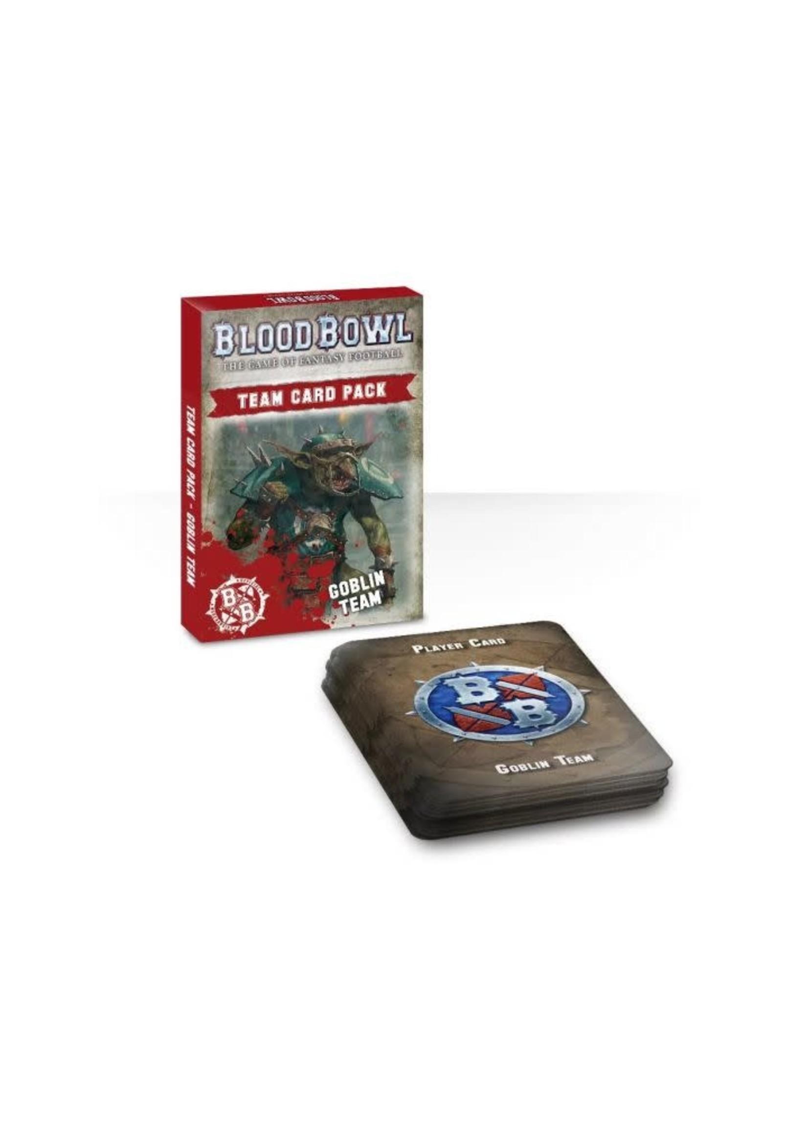 Blood Bowl Goblin Team Card Pack