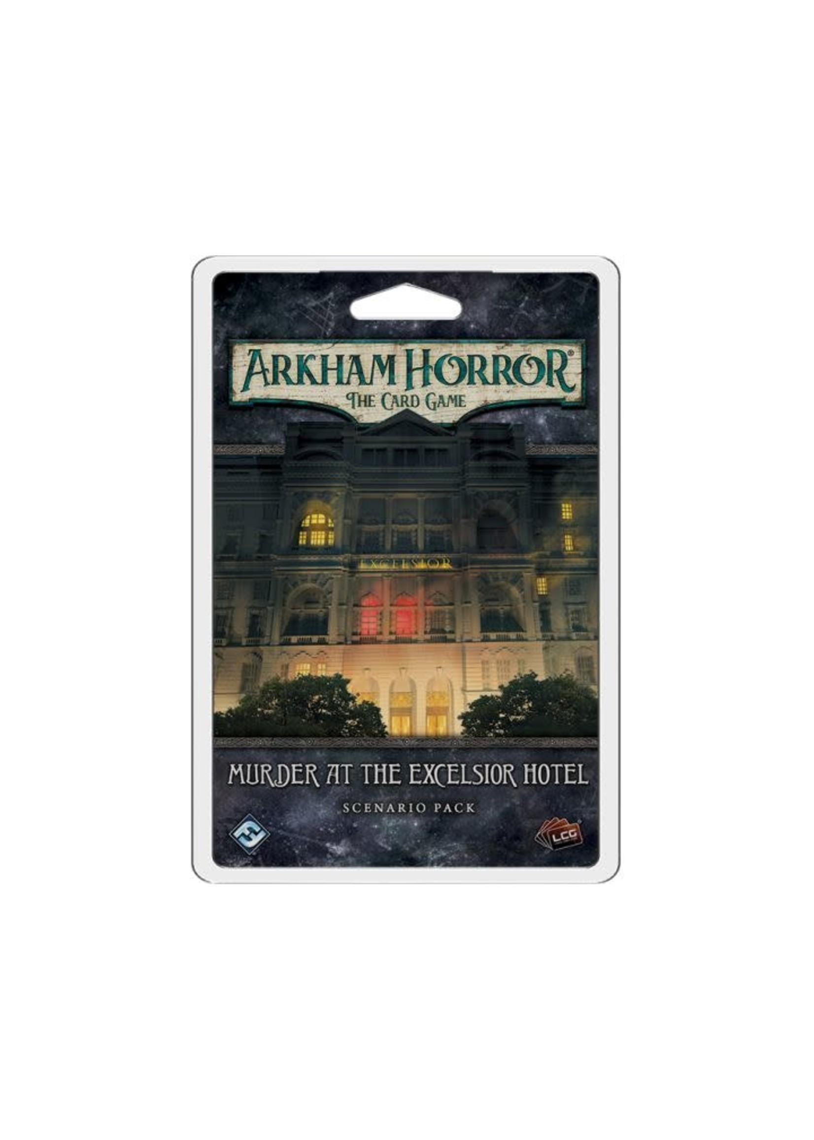 Arkham Horror Lcg: Murder At The Excelsior