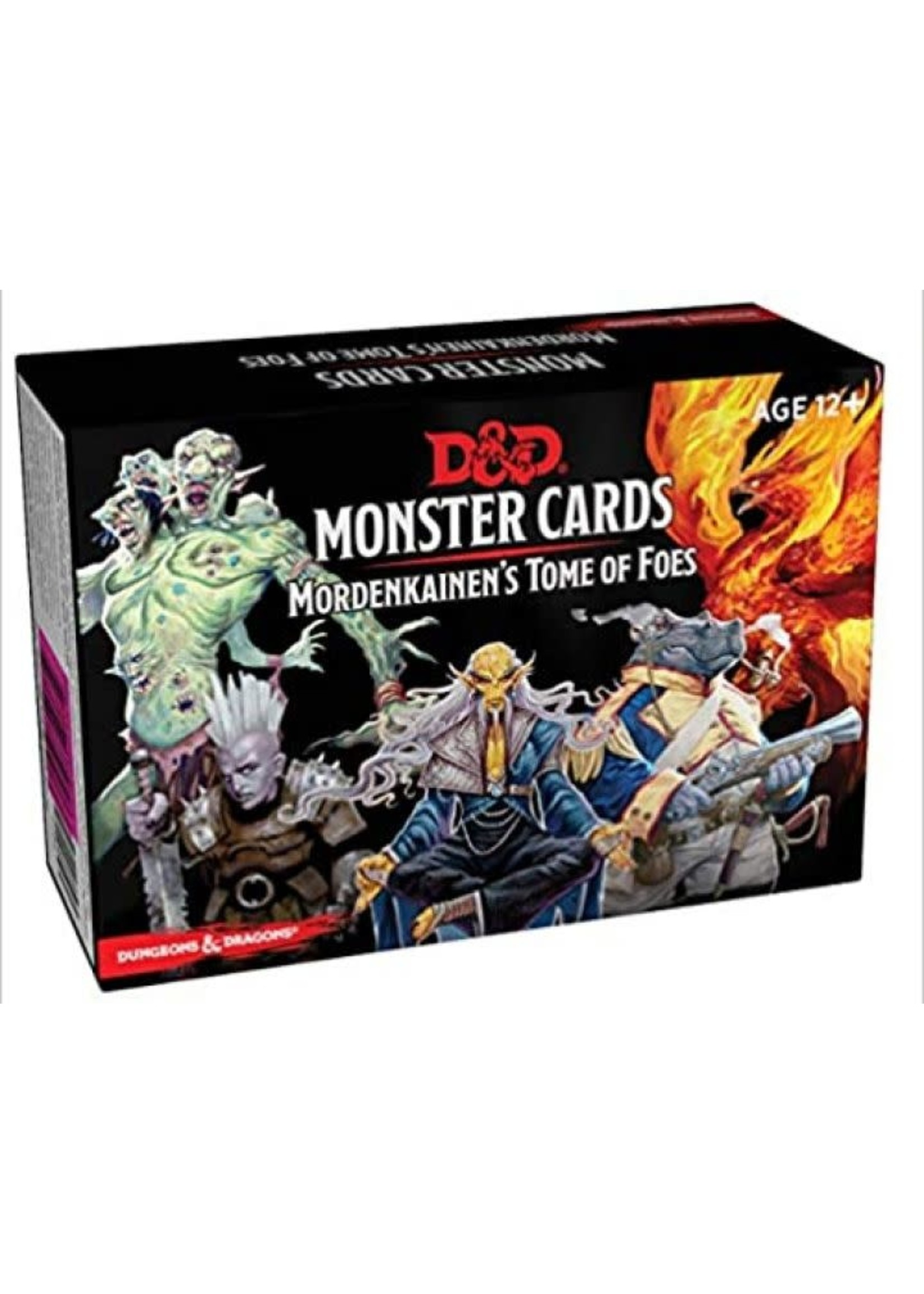 D&D Monster Cards - Mordenkainens Tome Of Foes