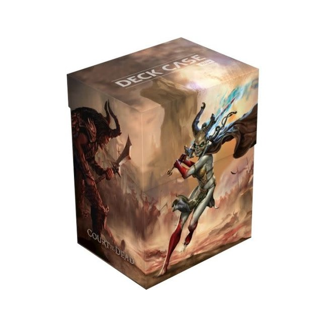 Court Of The Dead Basic Deck Case 80+ Standard Size Death'S Valkyrie I