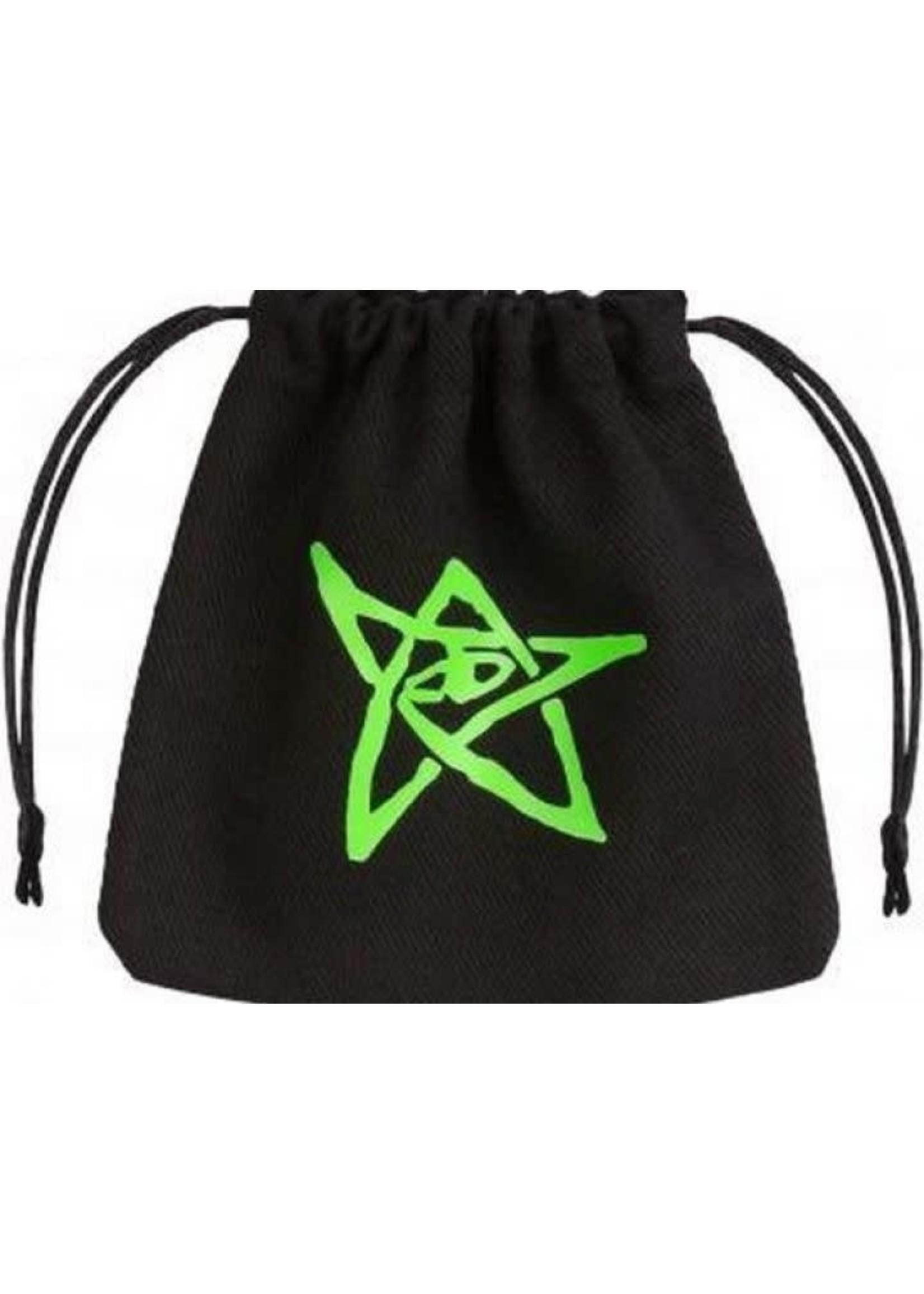 Dice Bag Ctulhu Black & Green