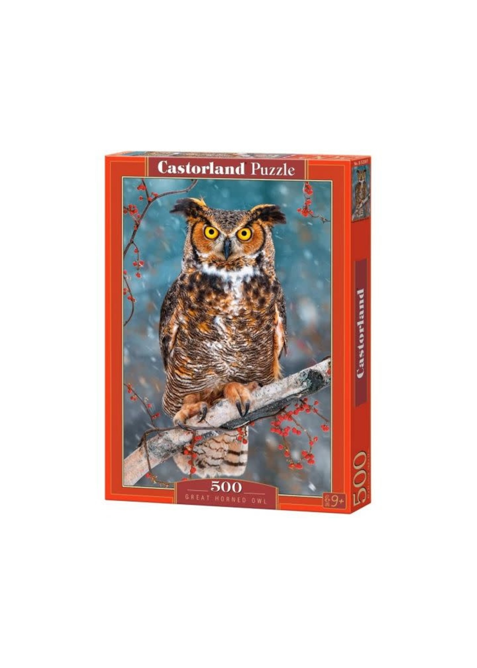 Great Horned Owl (500 Pcs.)