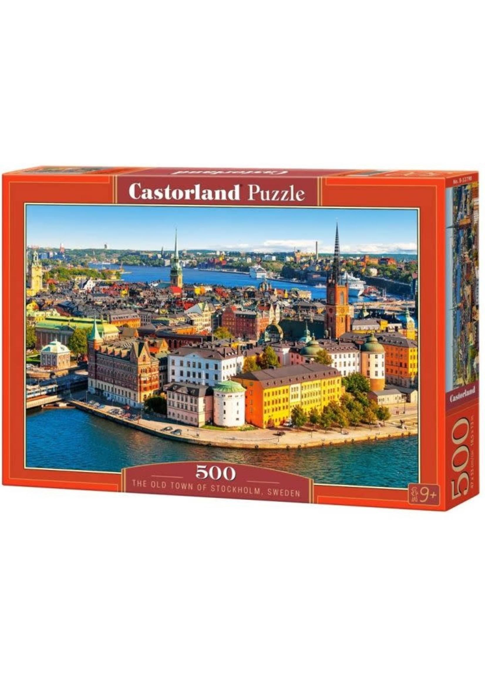 Castorland The Old Town Of Stockholm, Sweden - 500  Stukjes