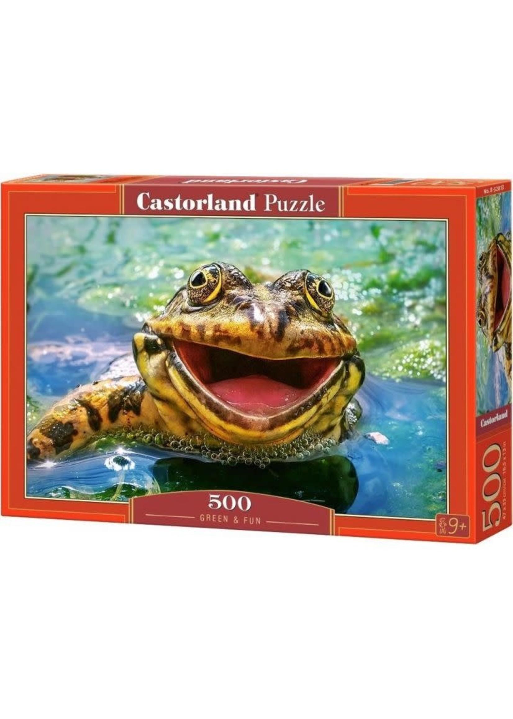 Castorland Green & Fun - 500 Stukjes