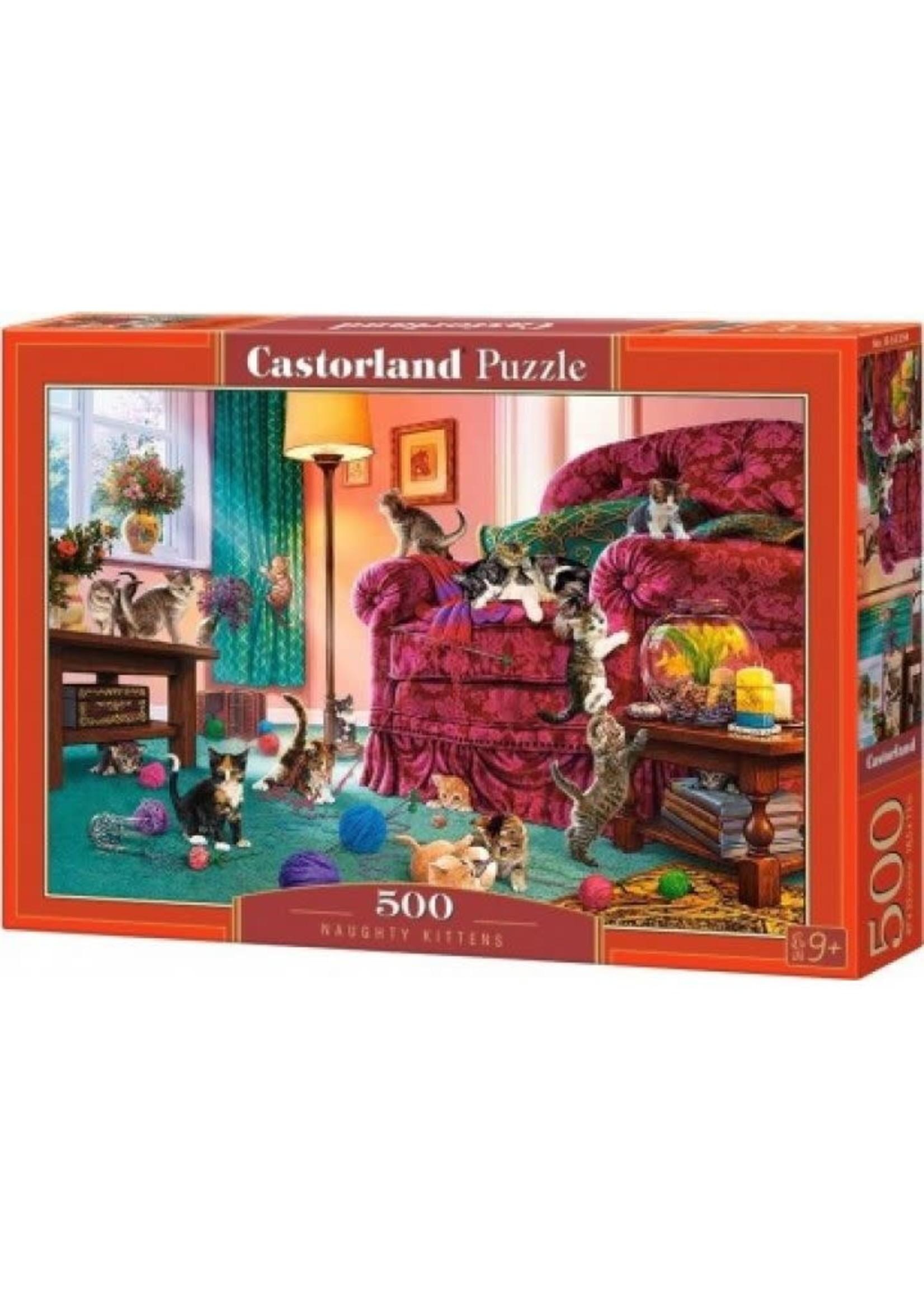 Castorland Naughty Kittens - 500 Stukjes