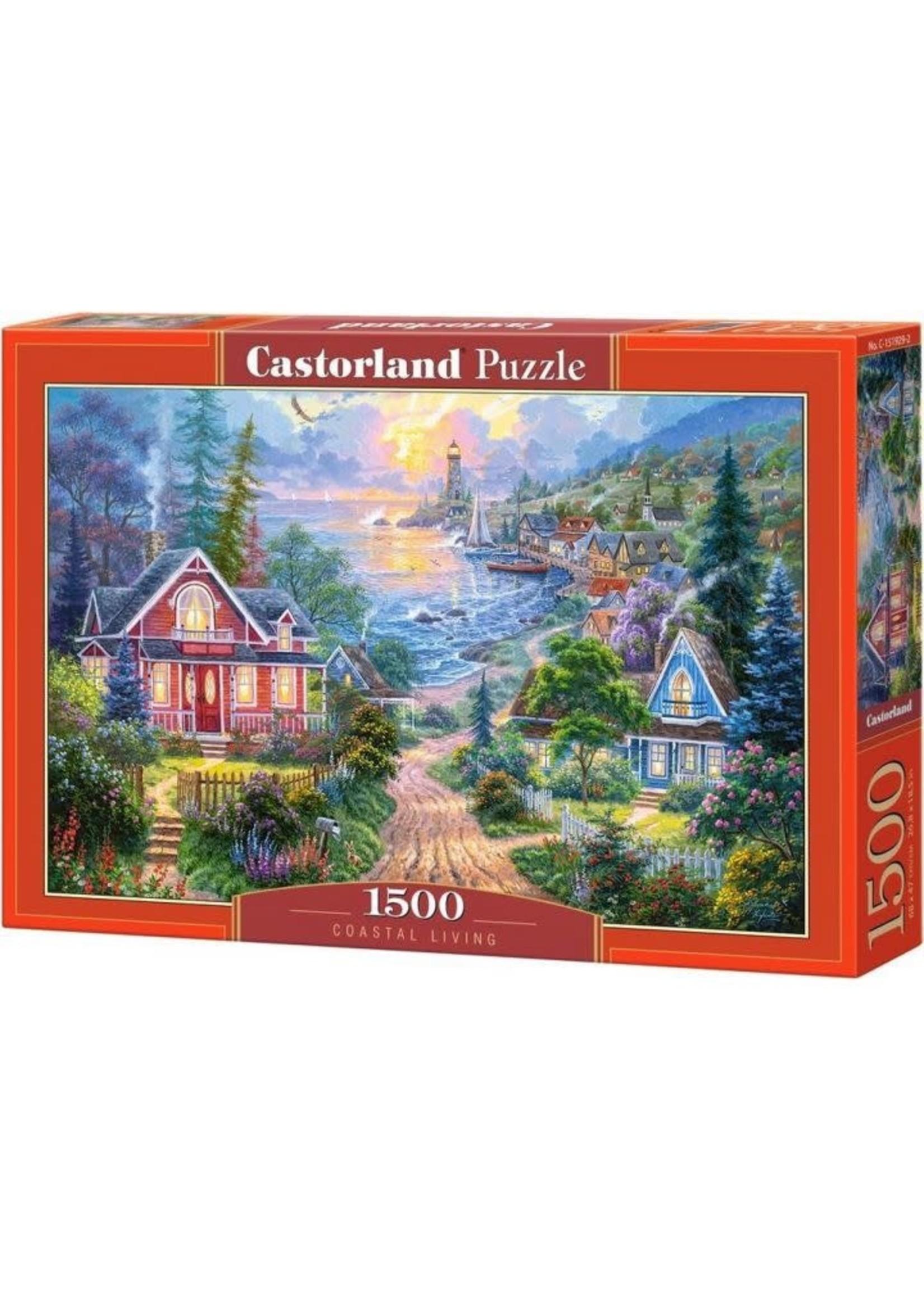 Castorland Coastal Living - 1500 Stukjes