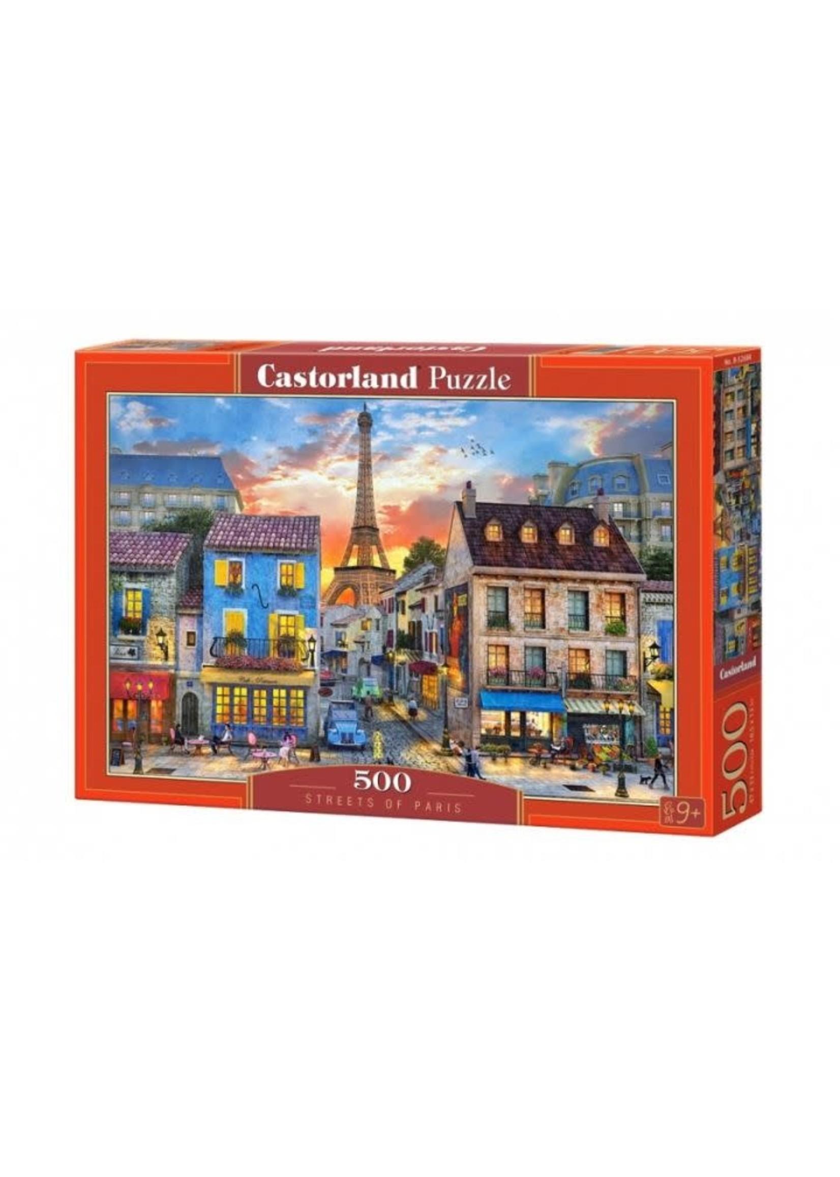 Castorland Streets Of Paris (500 Pcs.)