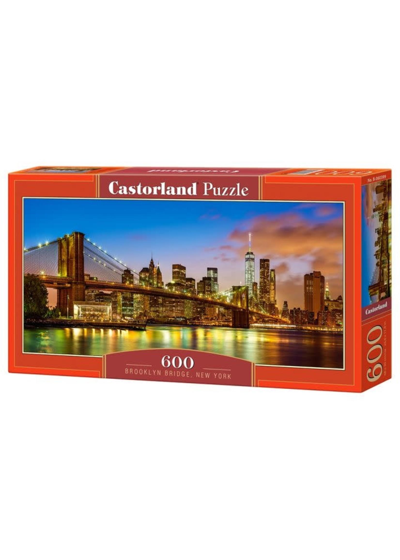Castorland Brooklyn Bridge, New York - 600 Stukjes