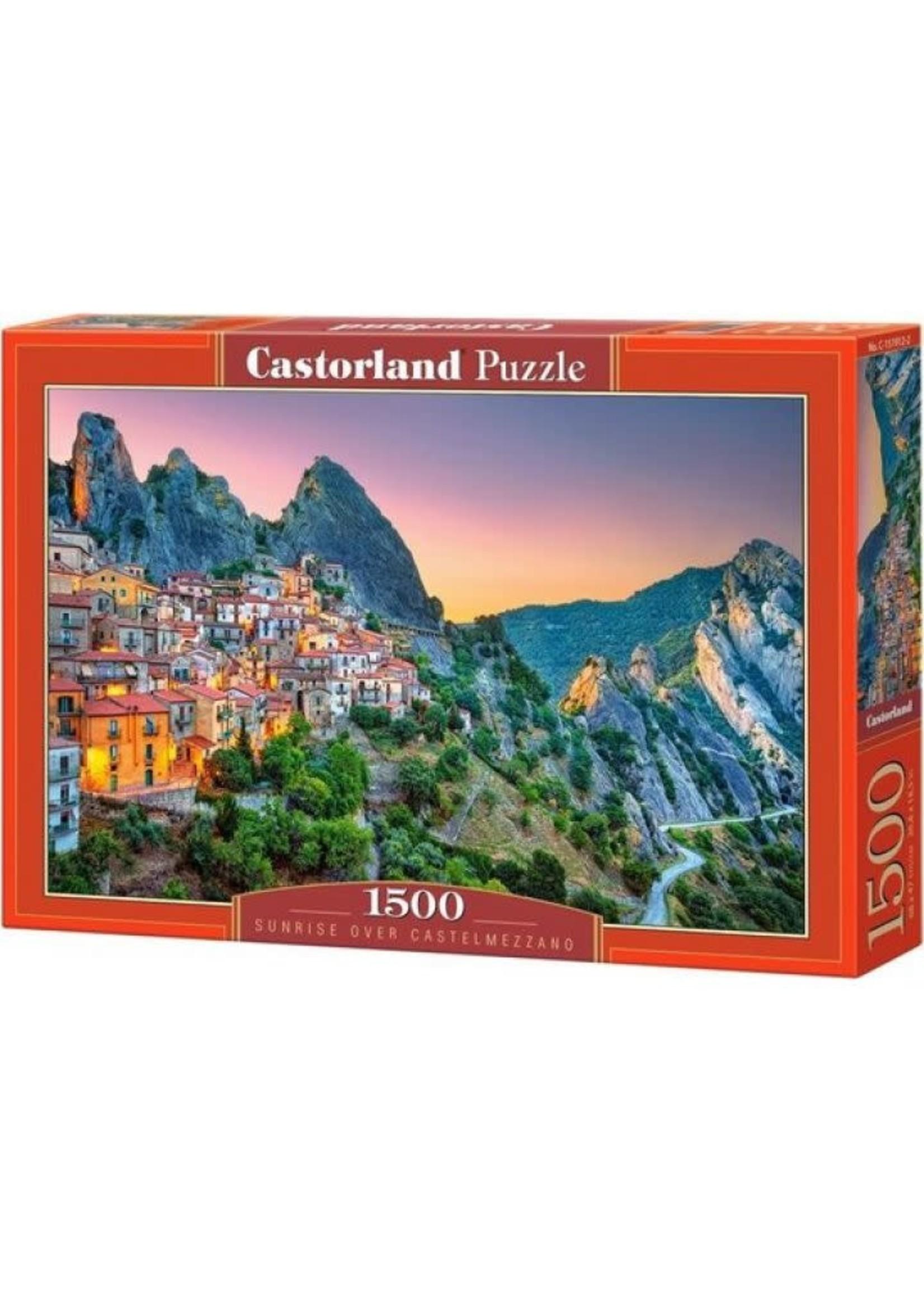 Castorland Sunrise Over Castelmezzano - 1500 Stukjes