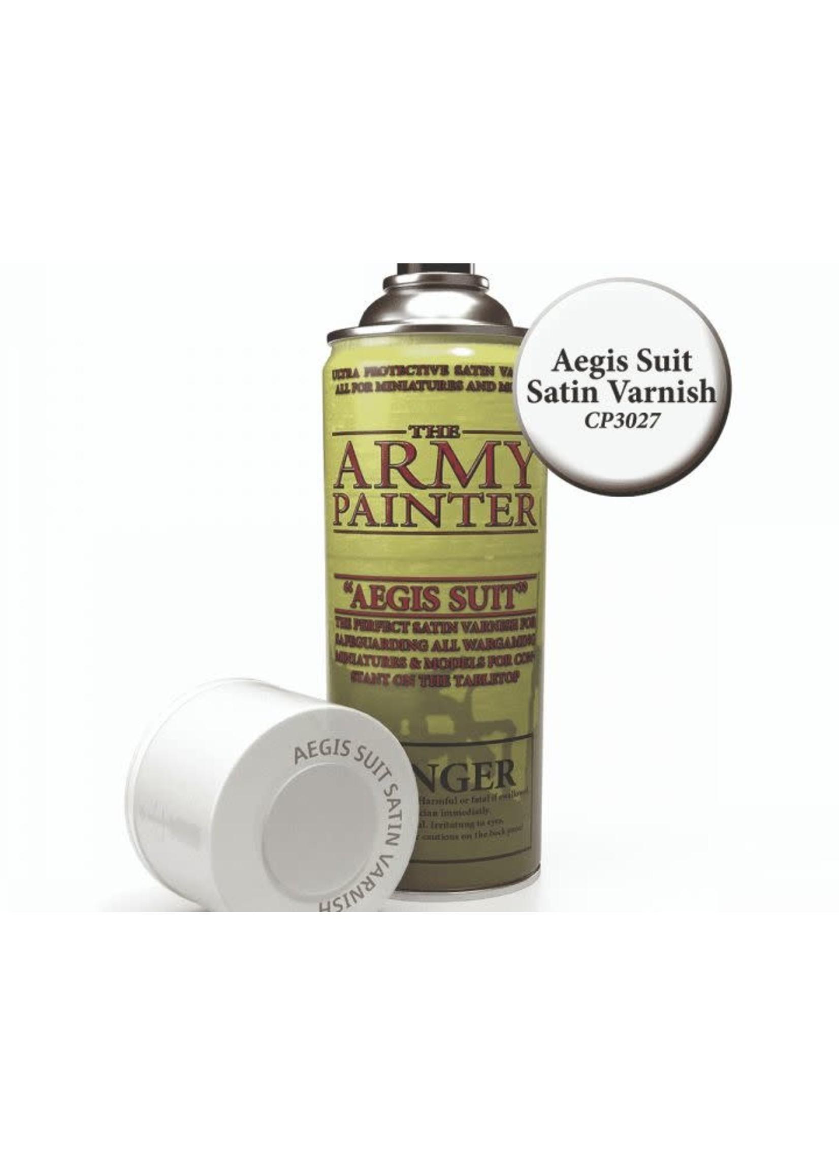 Base Primer - Aegis Suit Satin Varnish (400Ml)