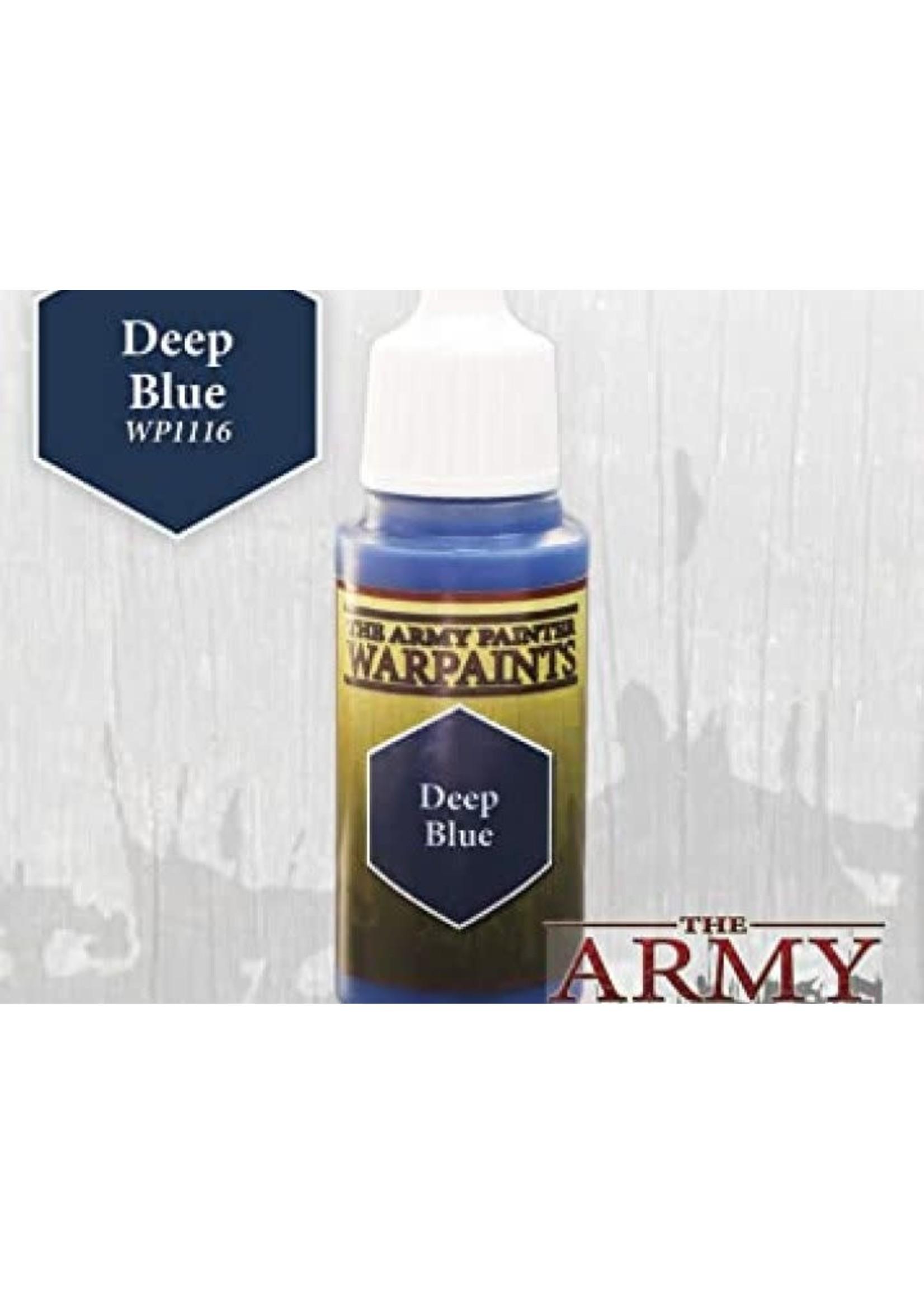 Army Painter Warpaints - Deep Blue