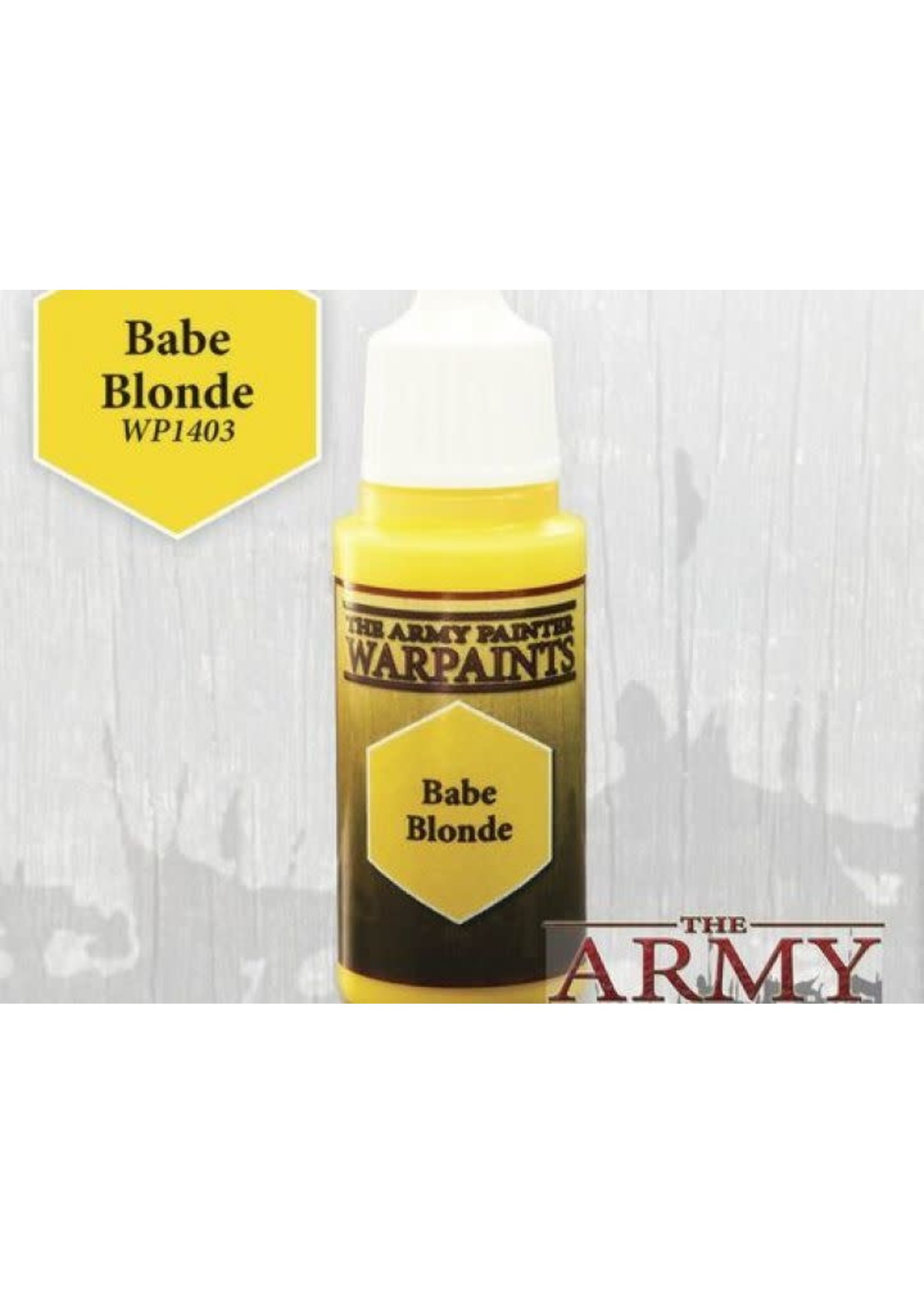 Army Painter Warpaints - Babe Blonde