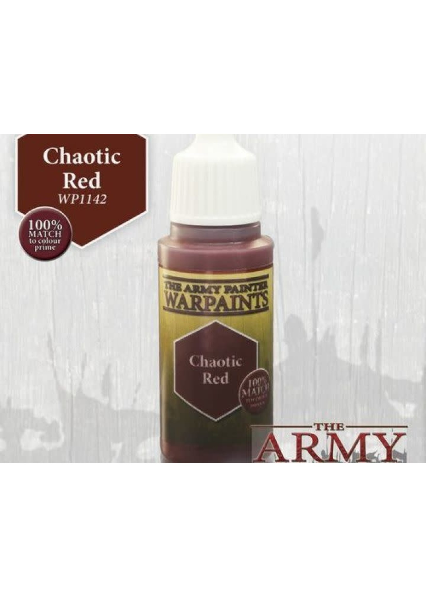 Army Painter Warpaints - Chaotic Red