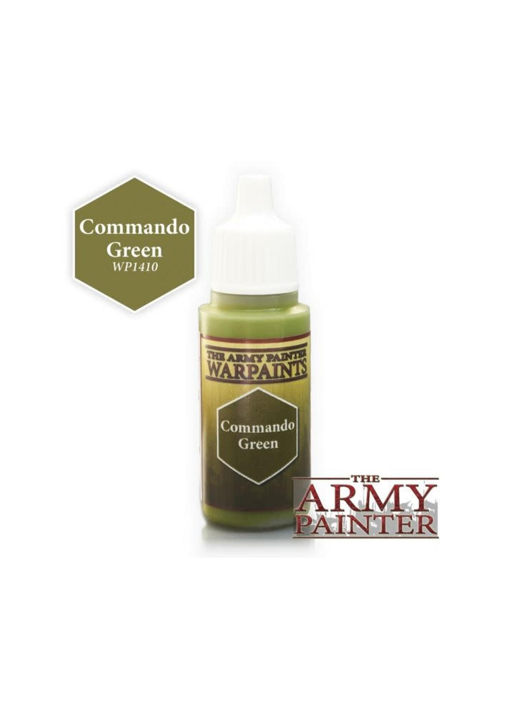 Army Painter Warpaints - Commando Green