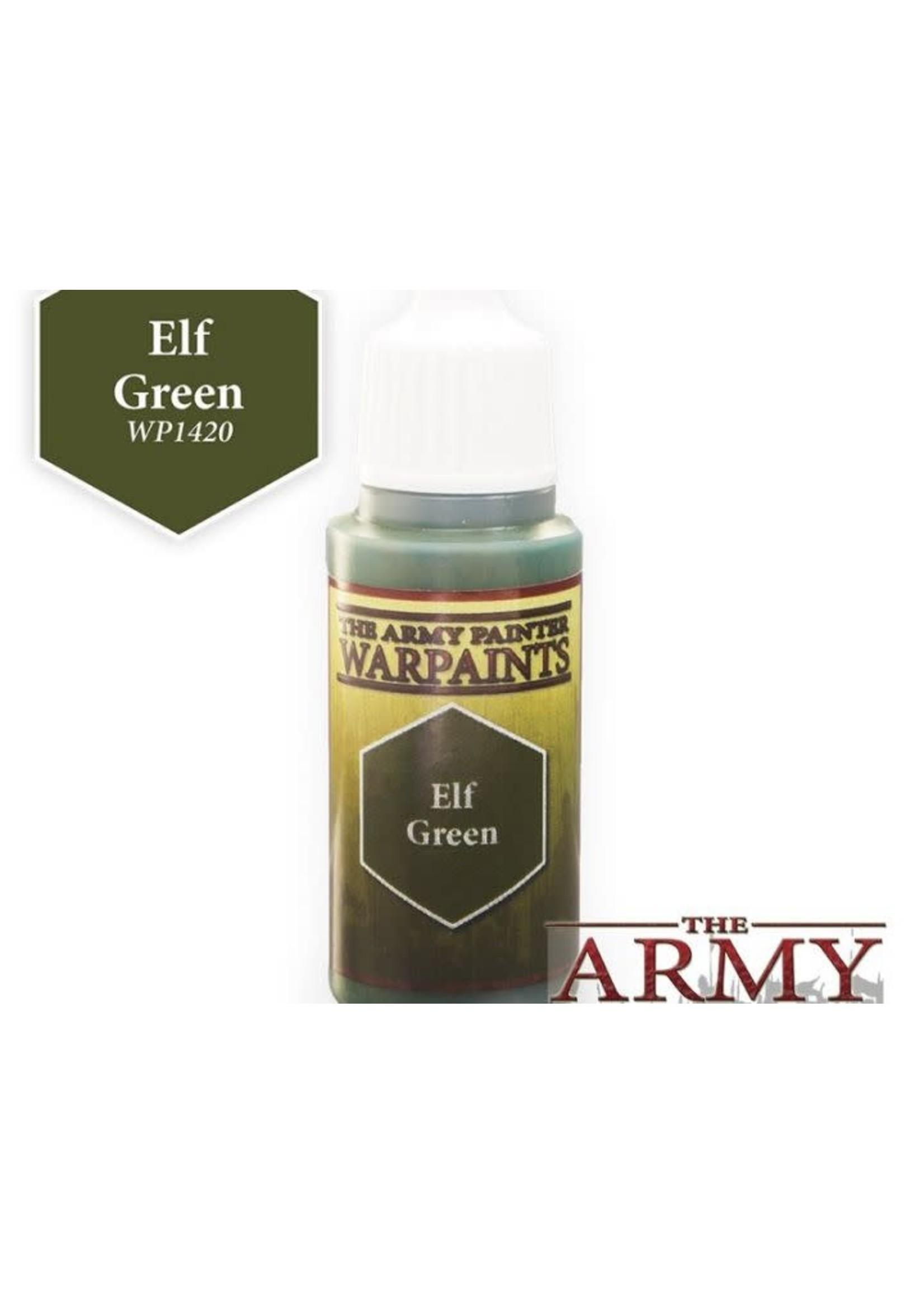 Army Painter Warpaints - Elf Green
