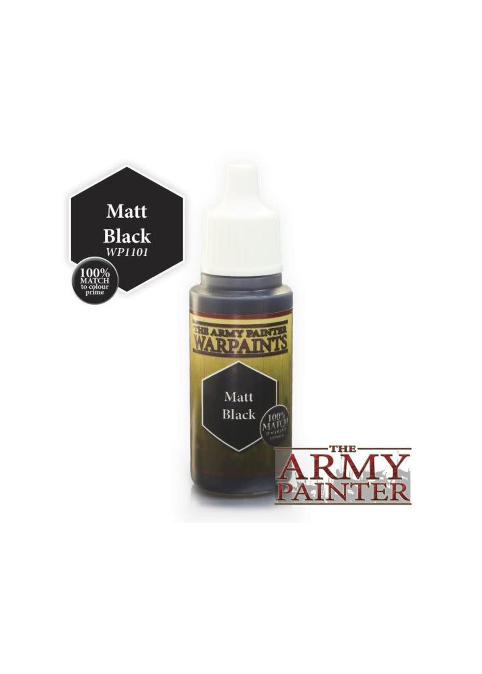 Army Painter Warpaints - Matt Black