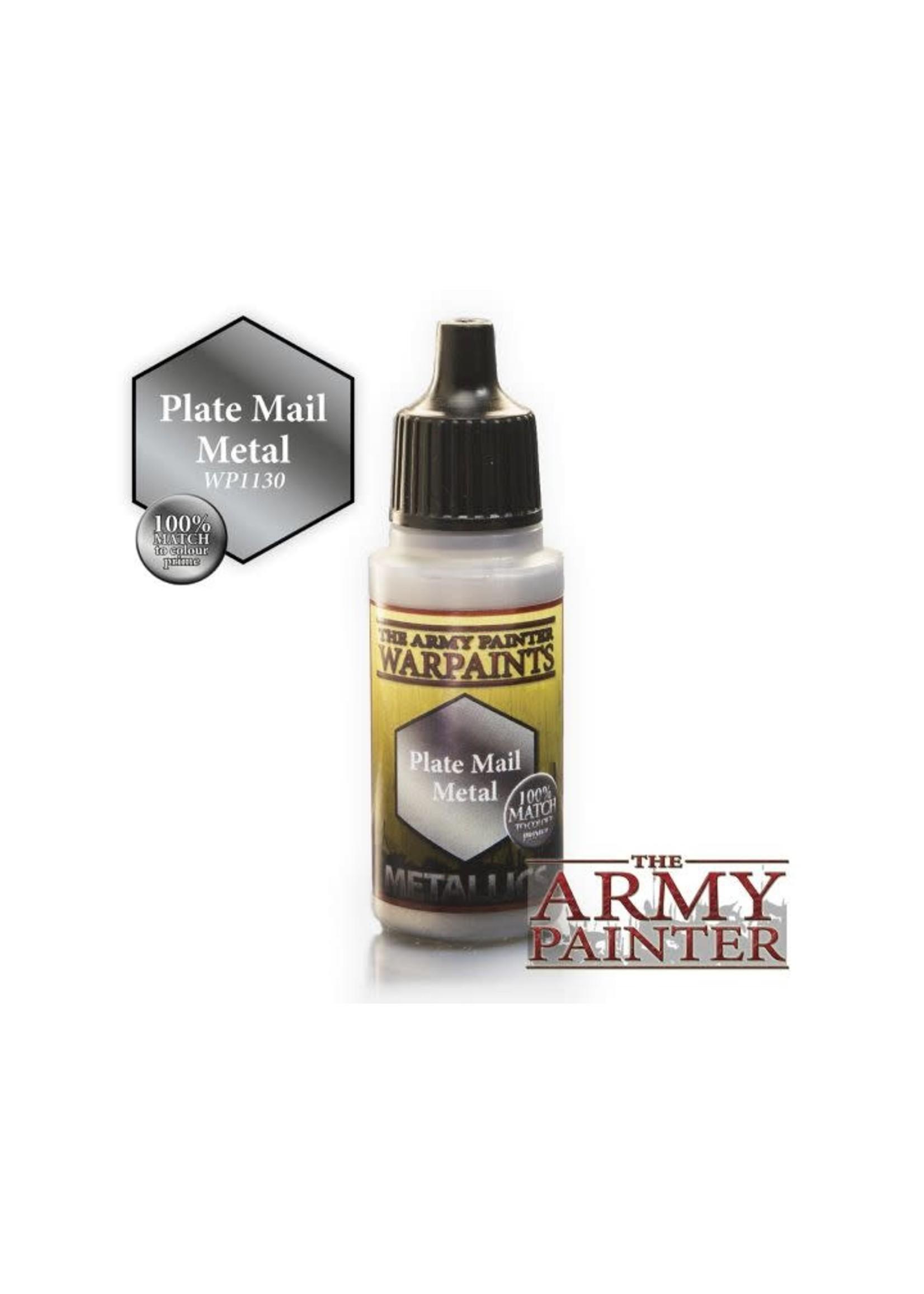 Army Painter Warpaints - Plate Mail Metal