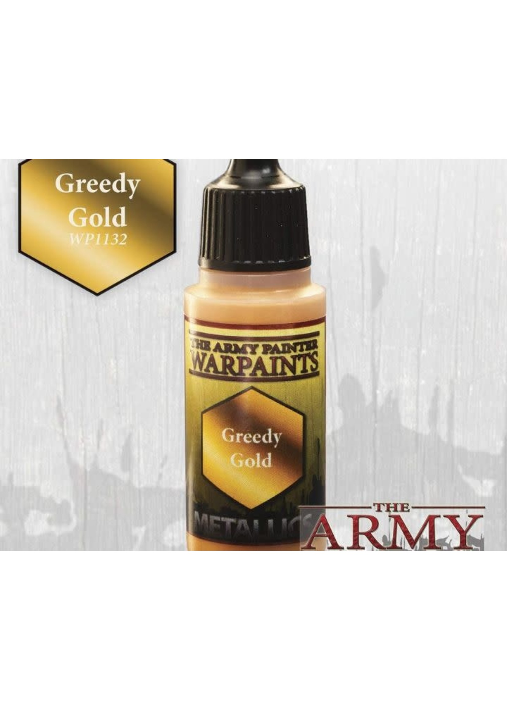 Army Painter Warpaints - Greedy Gold