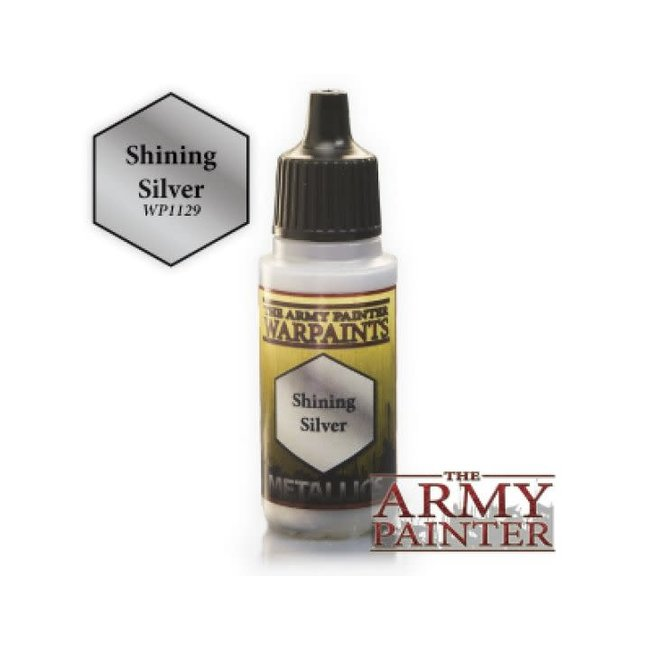 Army Painter Warpaints - Shining Silver