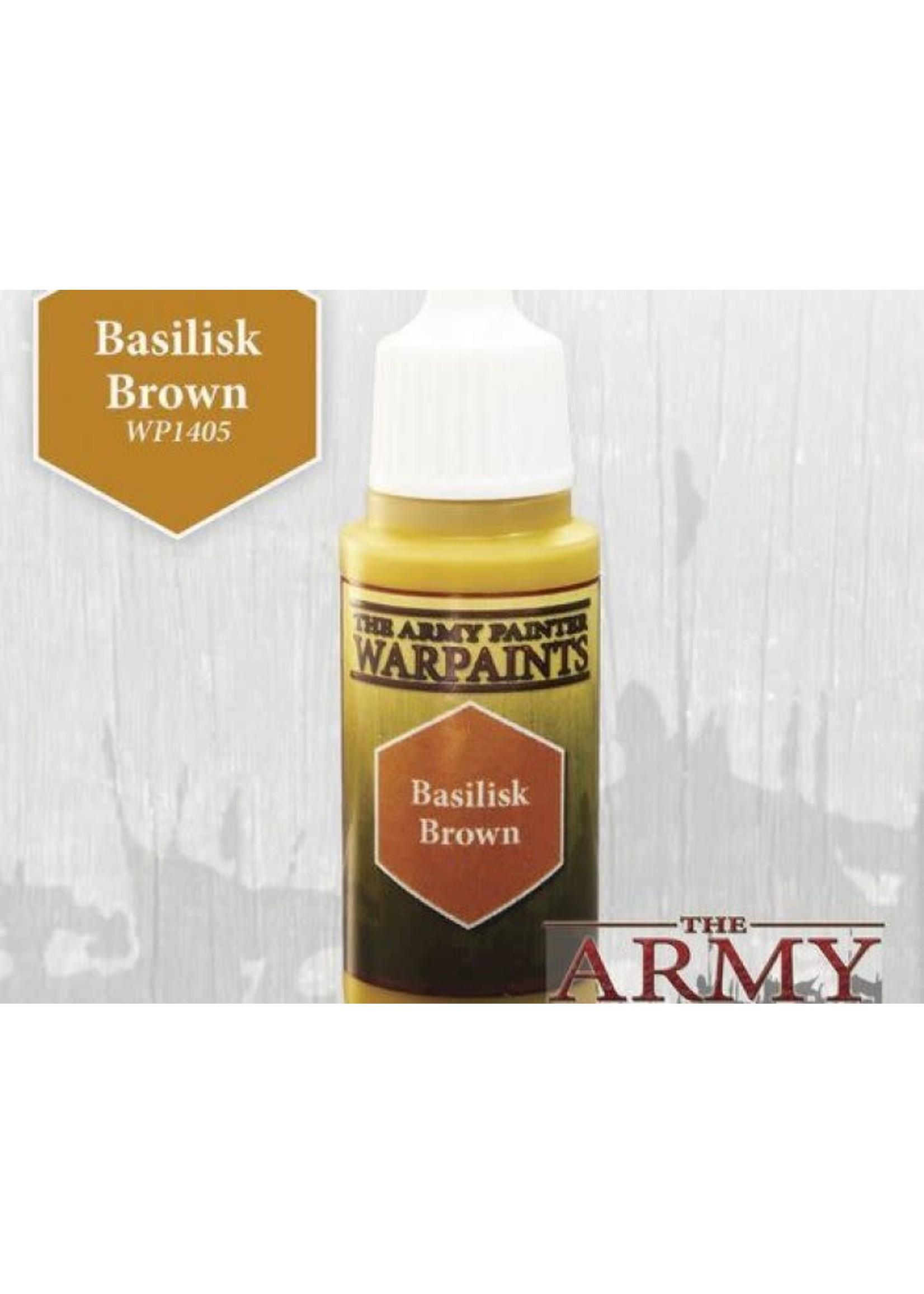 Army Painter Warpaints - Basilisk Brown