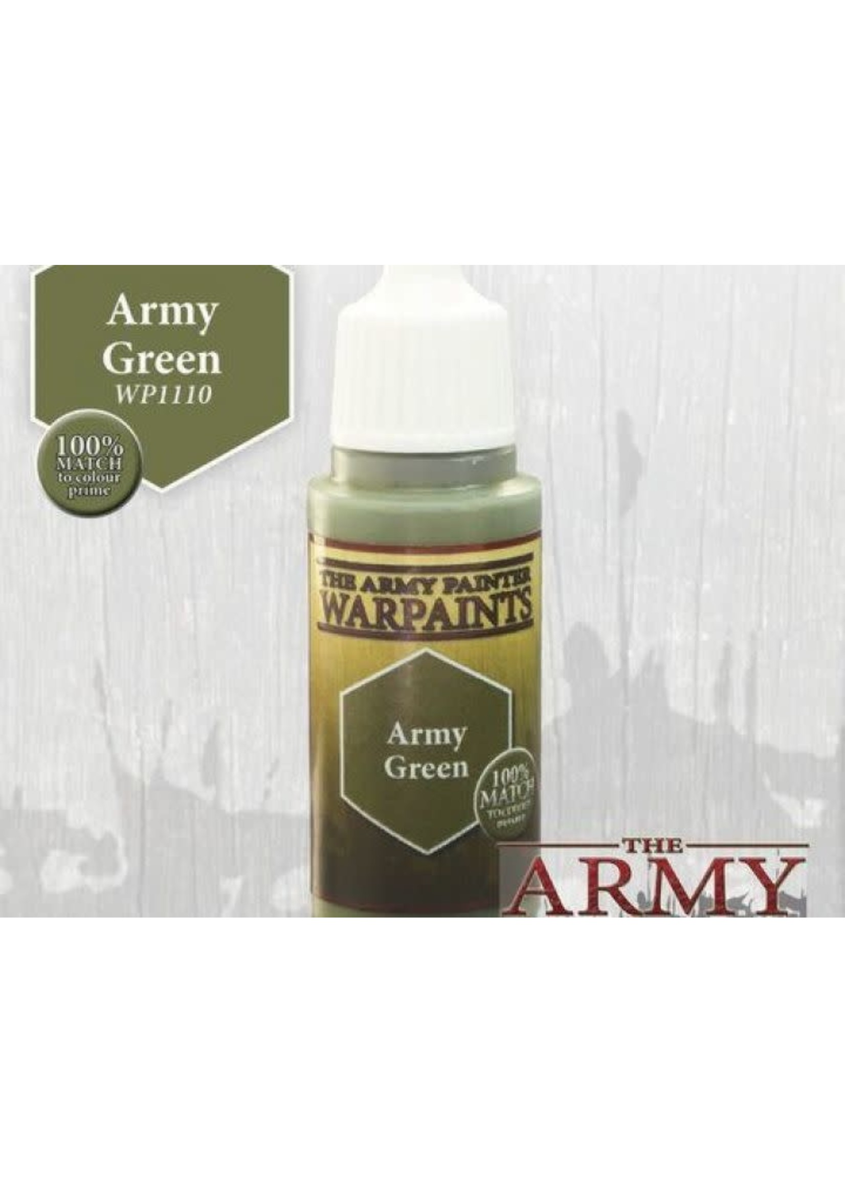 Army Painter Warpaints - Army Green