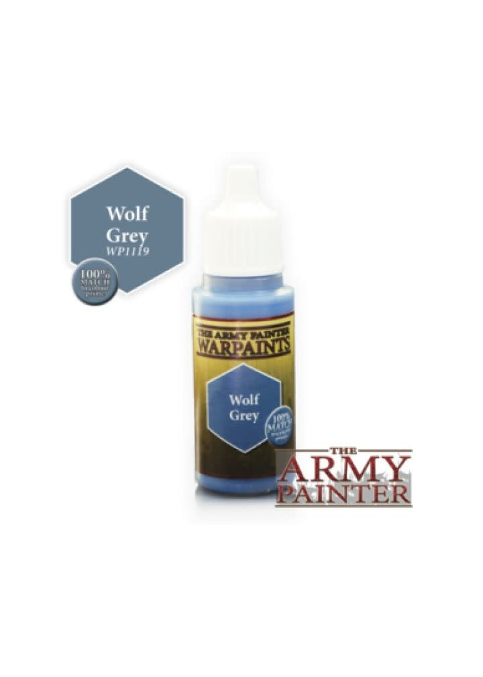 Army Painter Warpaints - Wolf Grey