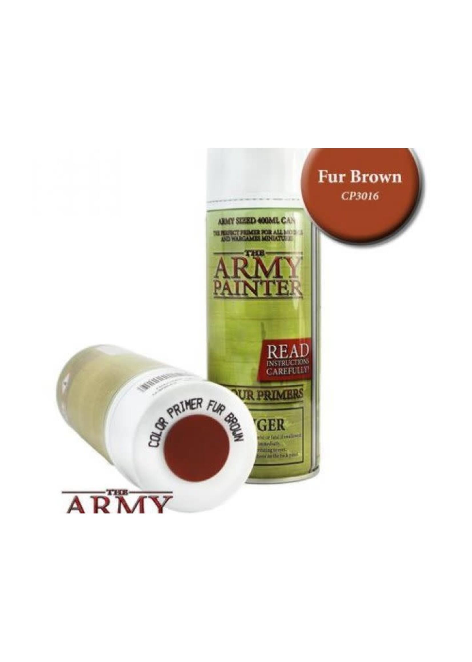 Army Painter Colour Primer - Fur Brown (400Ml)