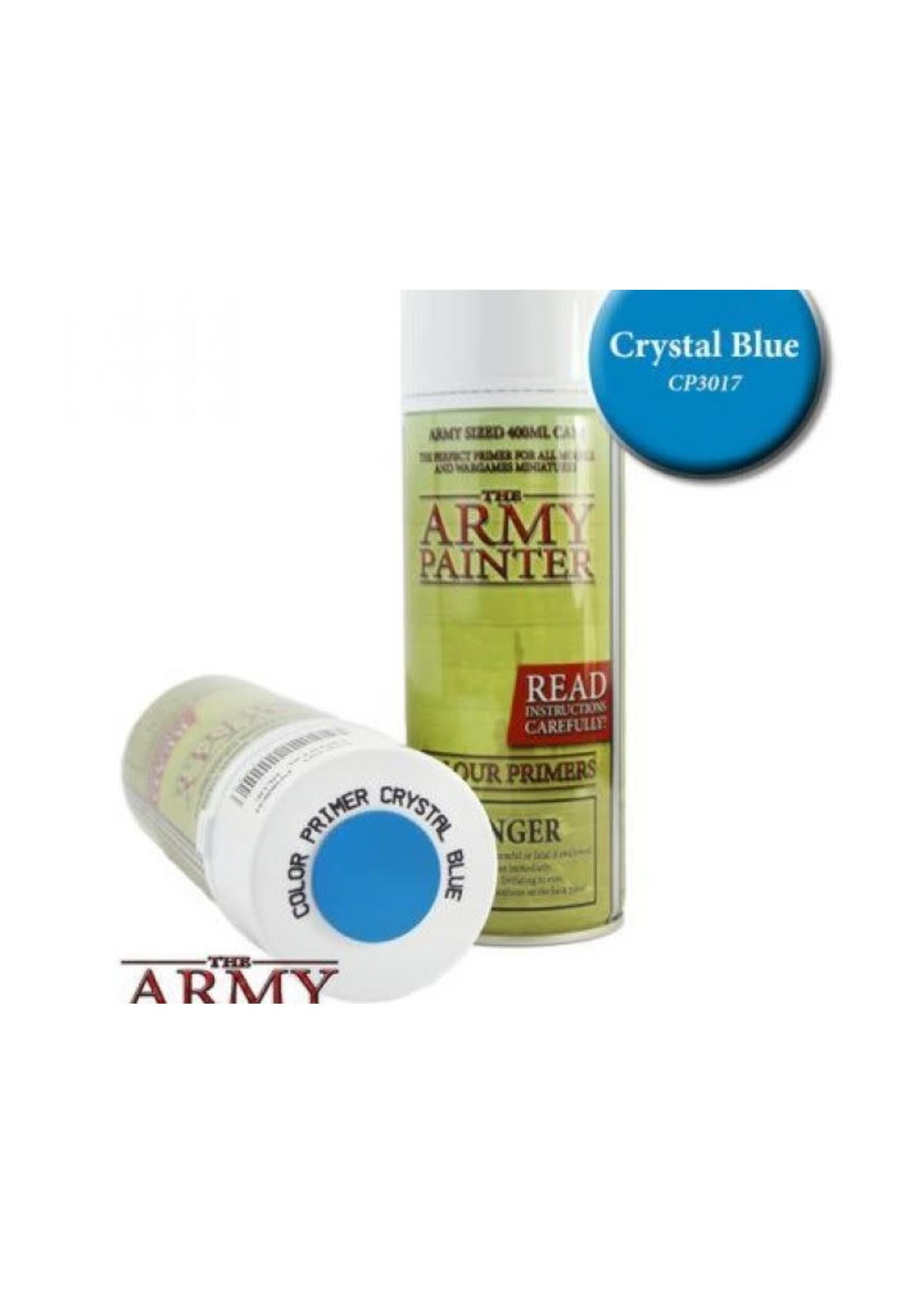 Army Painter Colour Primer - Crystal Blue (400Ml)