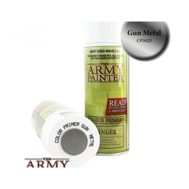 Army Painter Colour Primer - Gun Metal (400Ml)